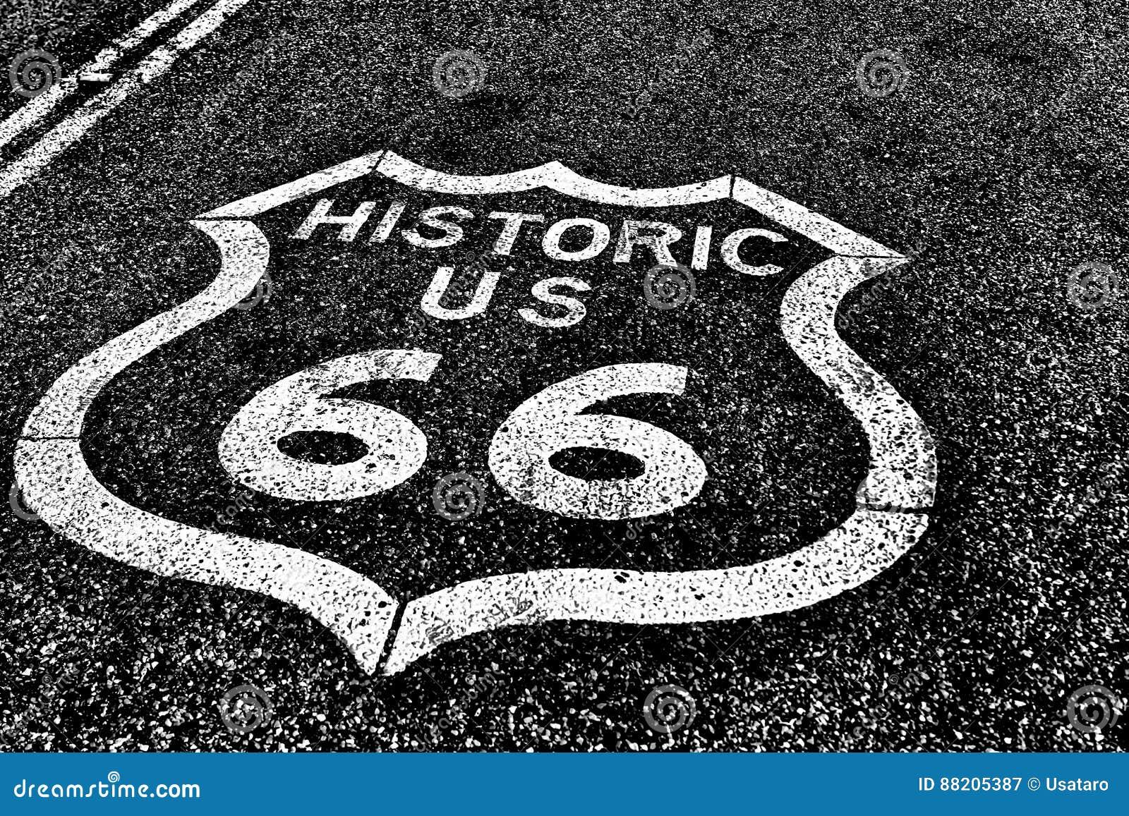 Трасса 66 дороги государственной автострады исторической