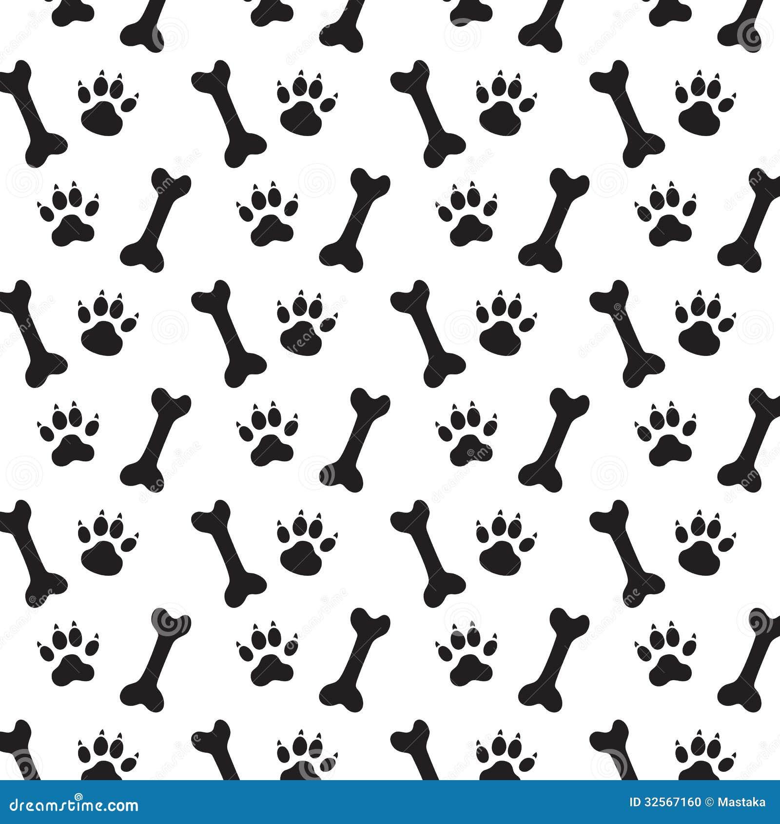dog bone pattern - 736×736