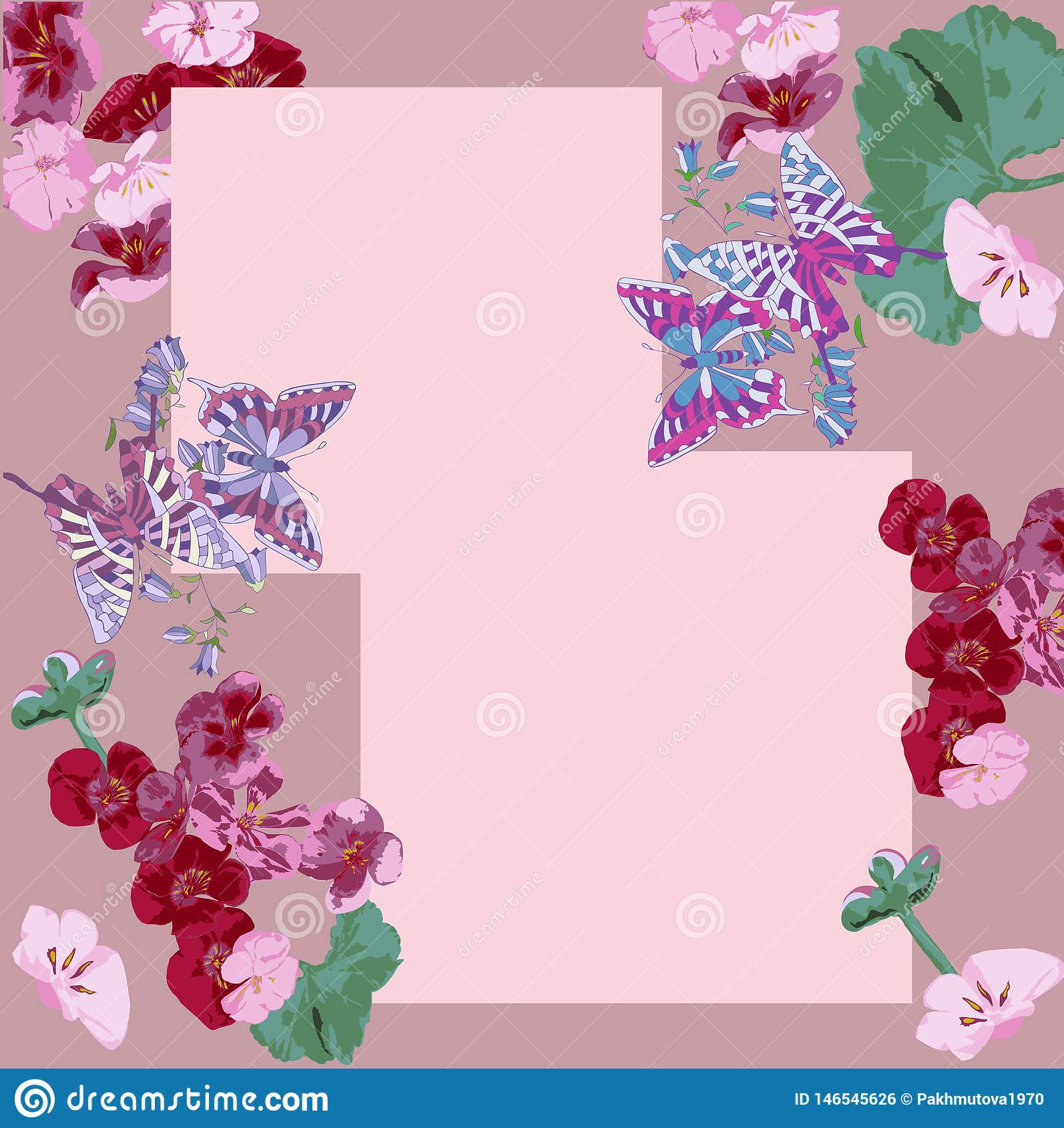 Pattern, flower, floral, seamless, abstract, butterfly, decoration, pink, flowers, design, illustration, nature, white, red, art,