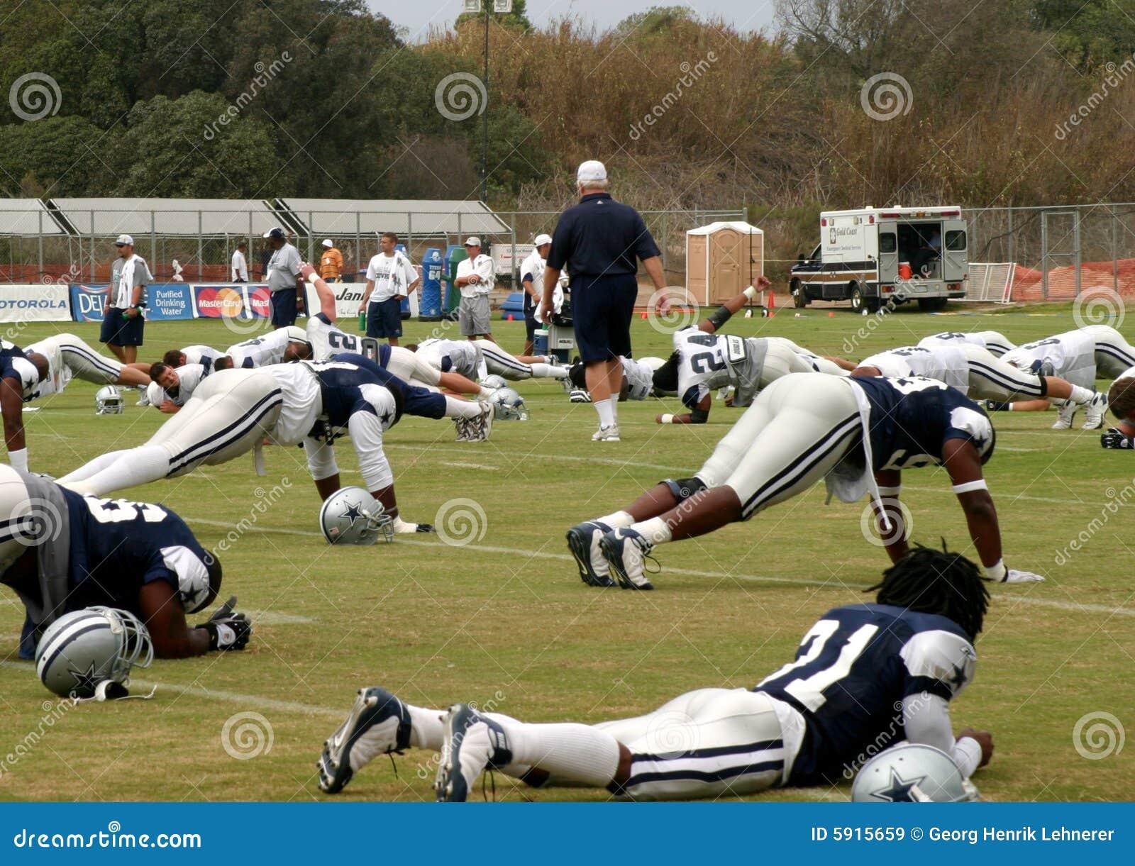 тренировка texas ковбоев