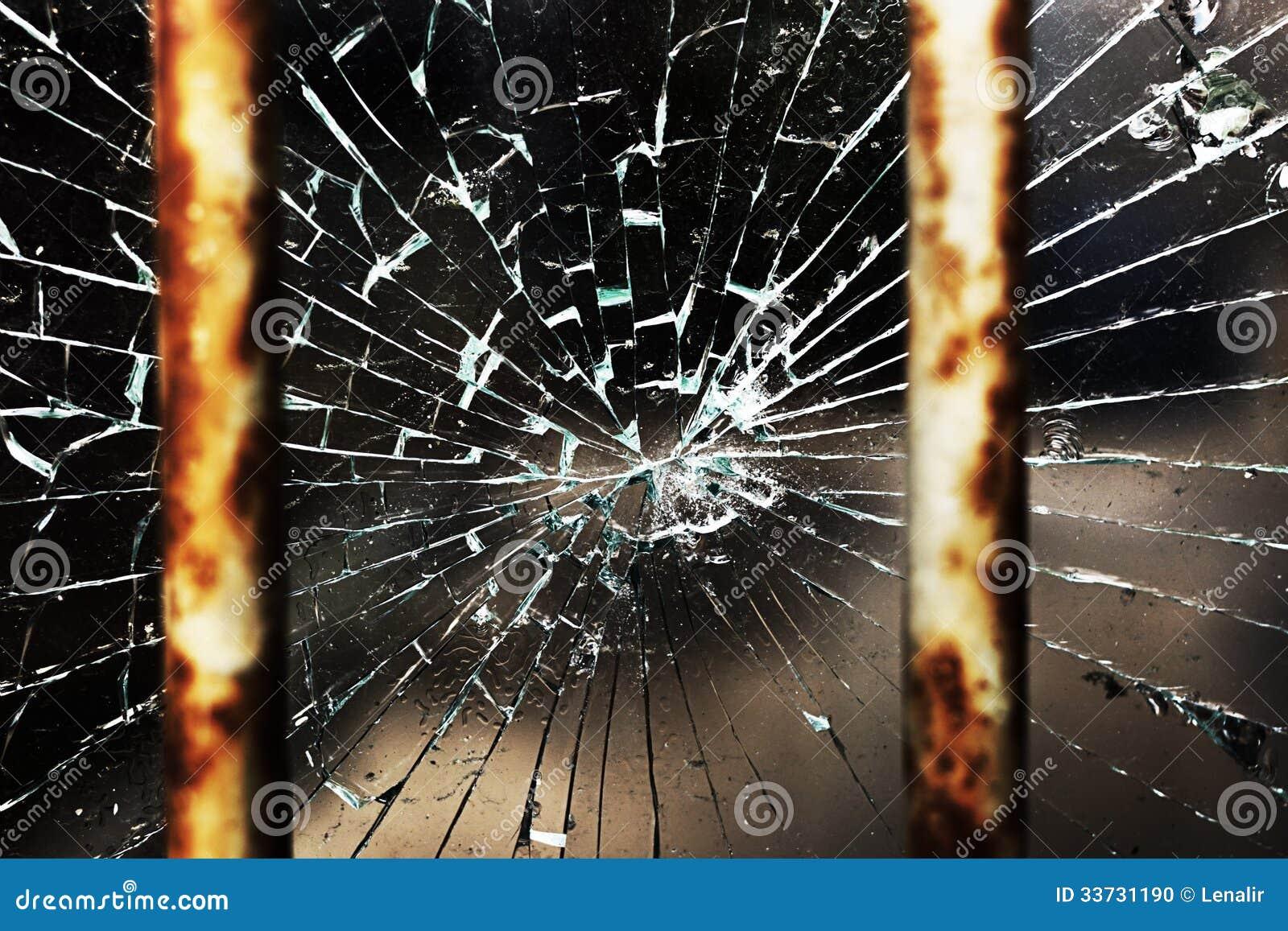 Треснутые стекло и адвокатские сословия