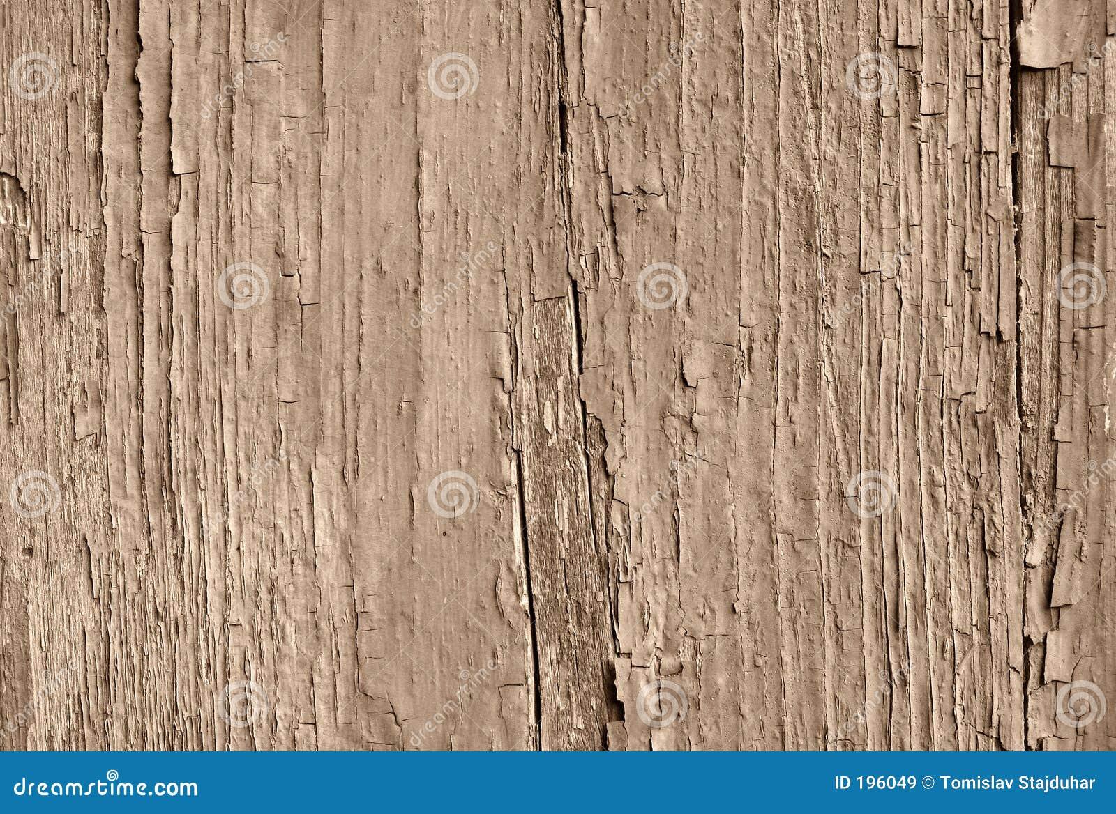 треснутый старый тонизированный sepia краски
