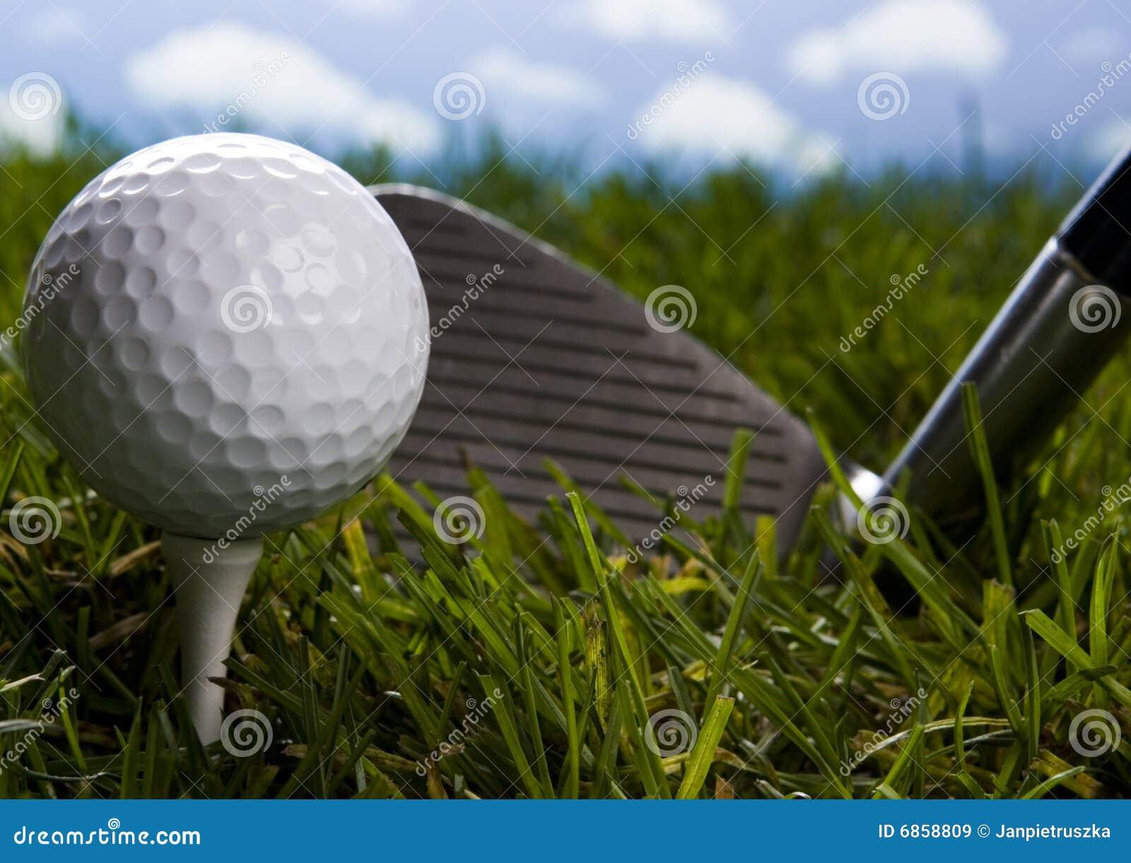 тройник гольфа клуба шарика