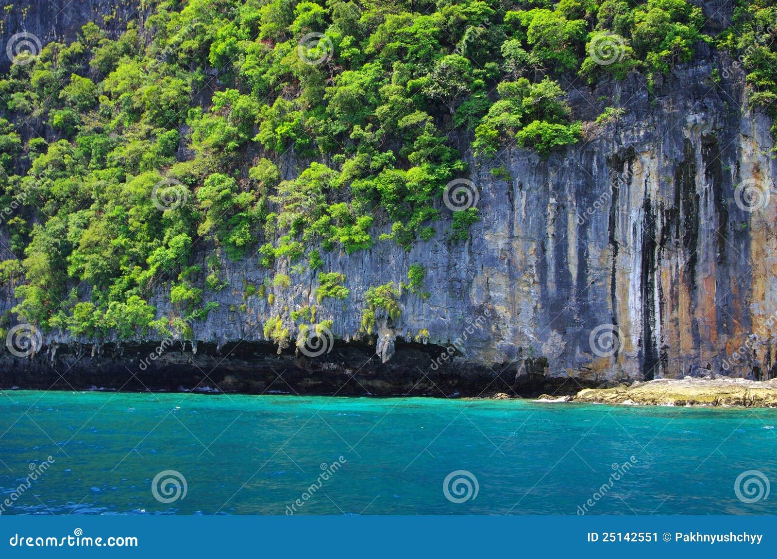 Тропический остров Thsiland