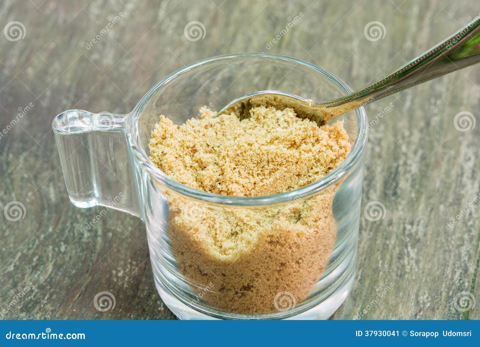 Тростниковый сахар Брайна для кофе