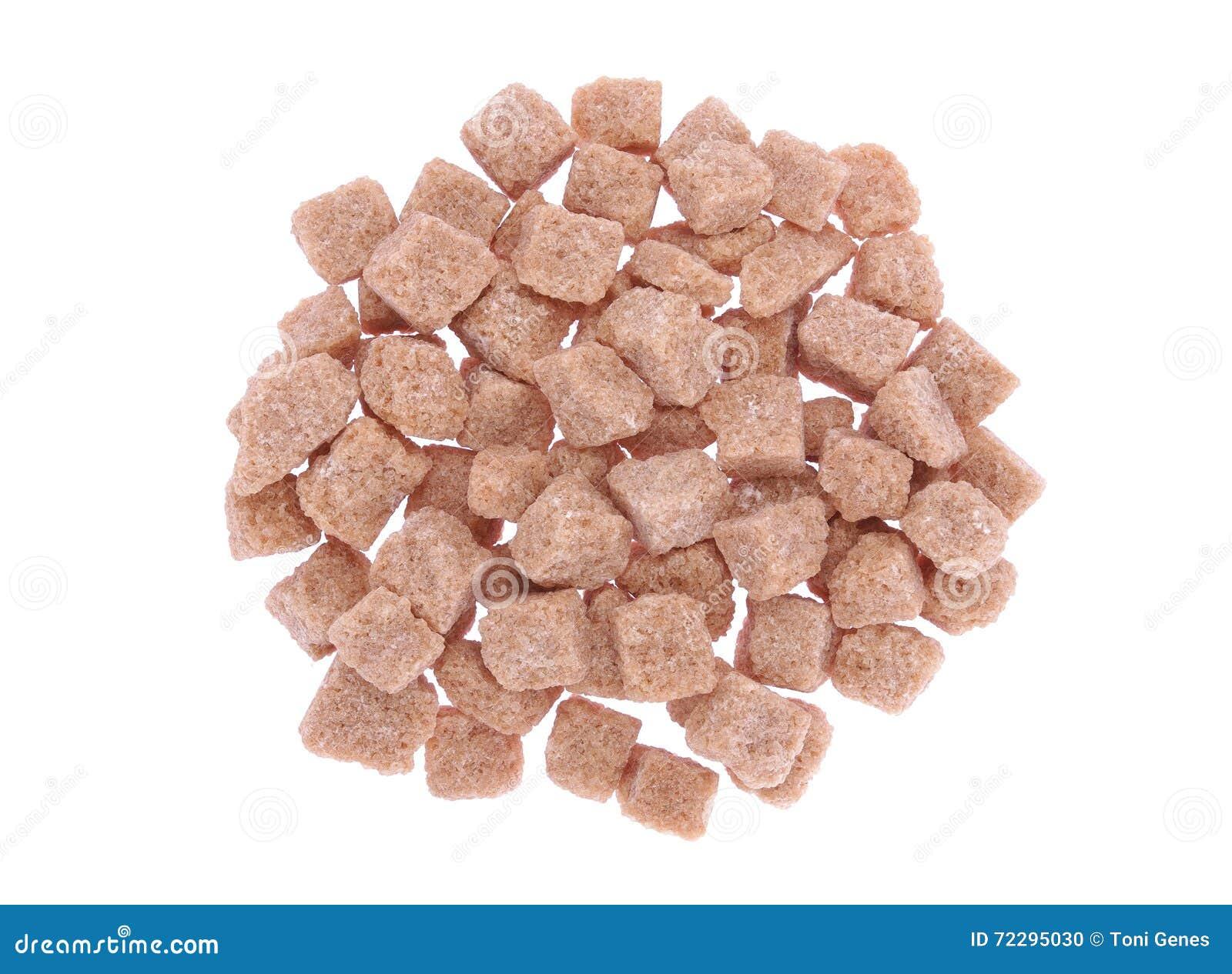 Download Тростниковый сахар Брайна Unrefined Стоковое Фото - изображение насчитывающей unrefined, кубики: 72295030