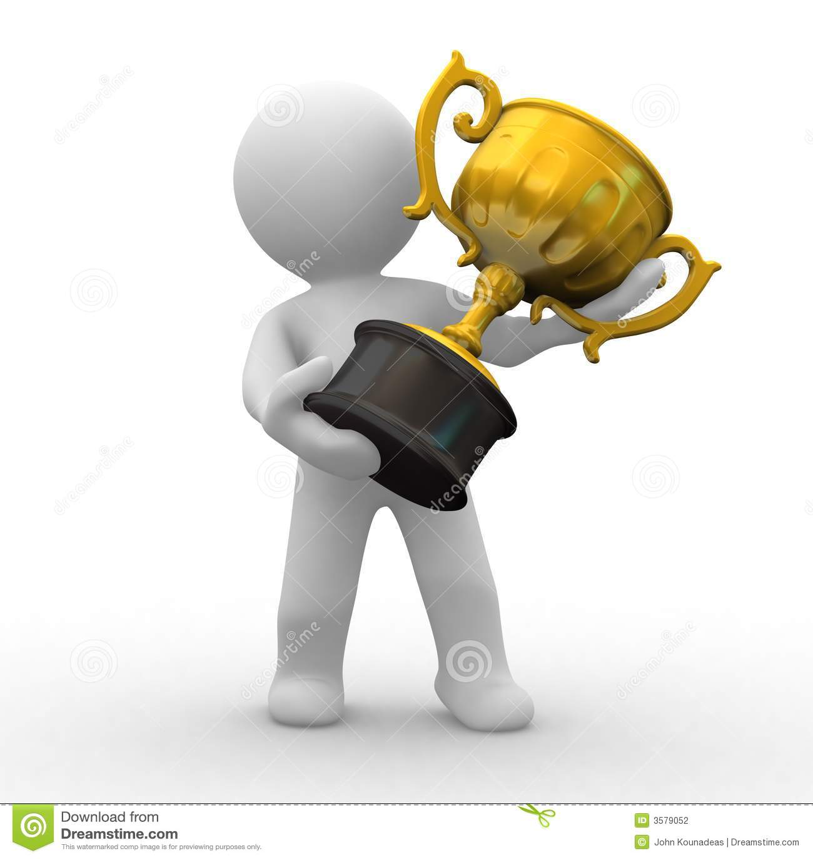 трофей золота