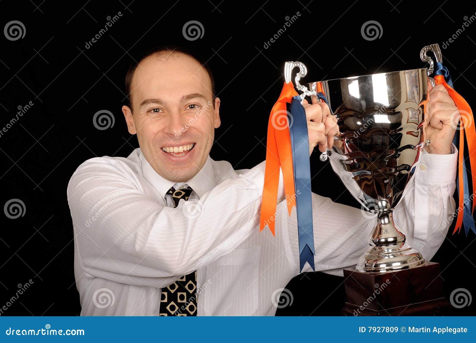 трофей человека удерживания