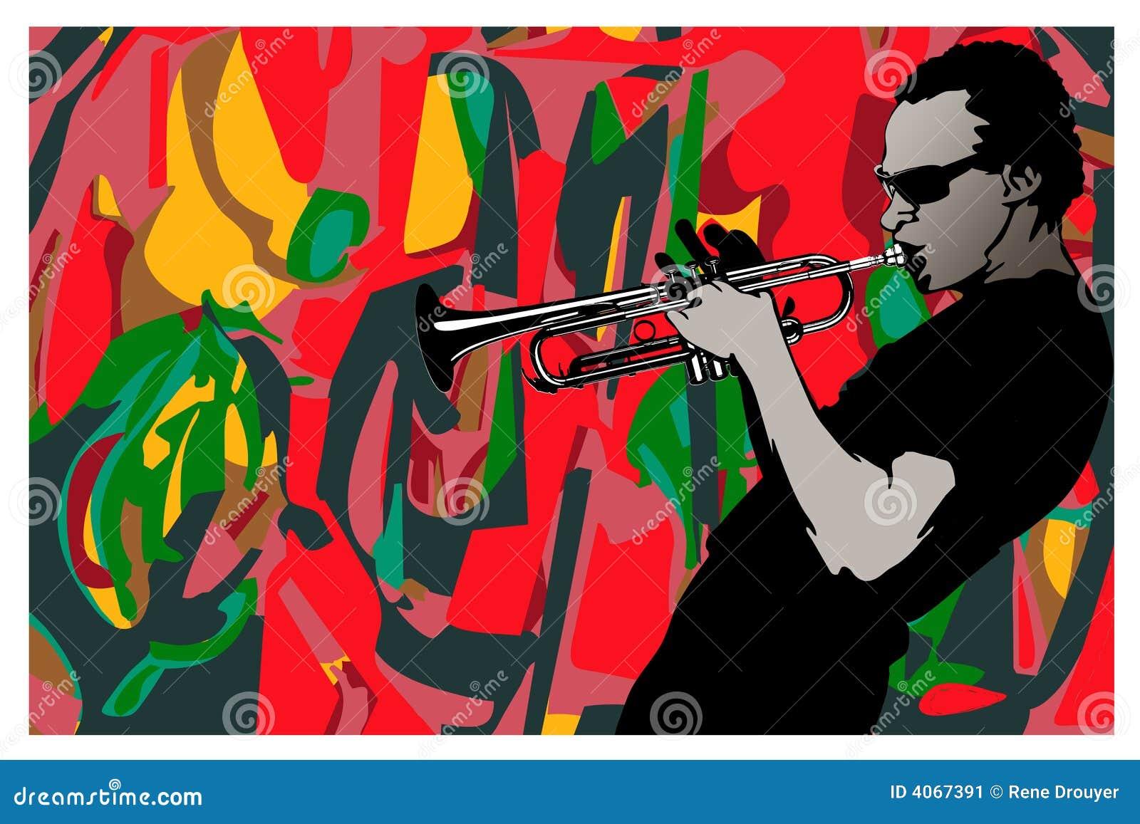 трубач джаза