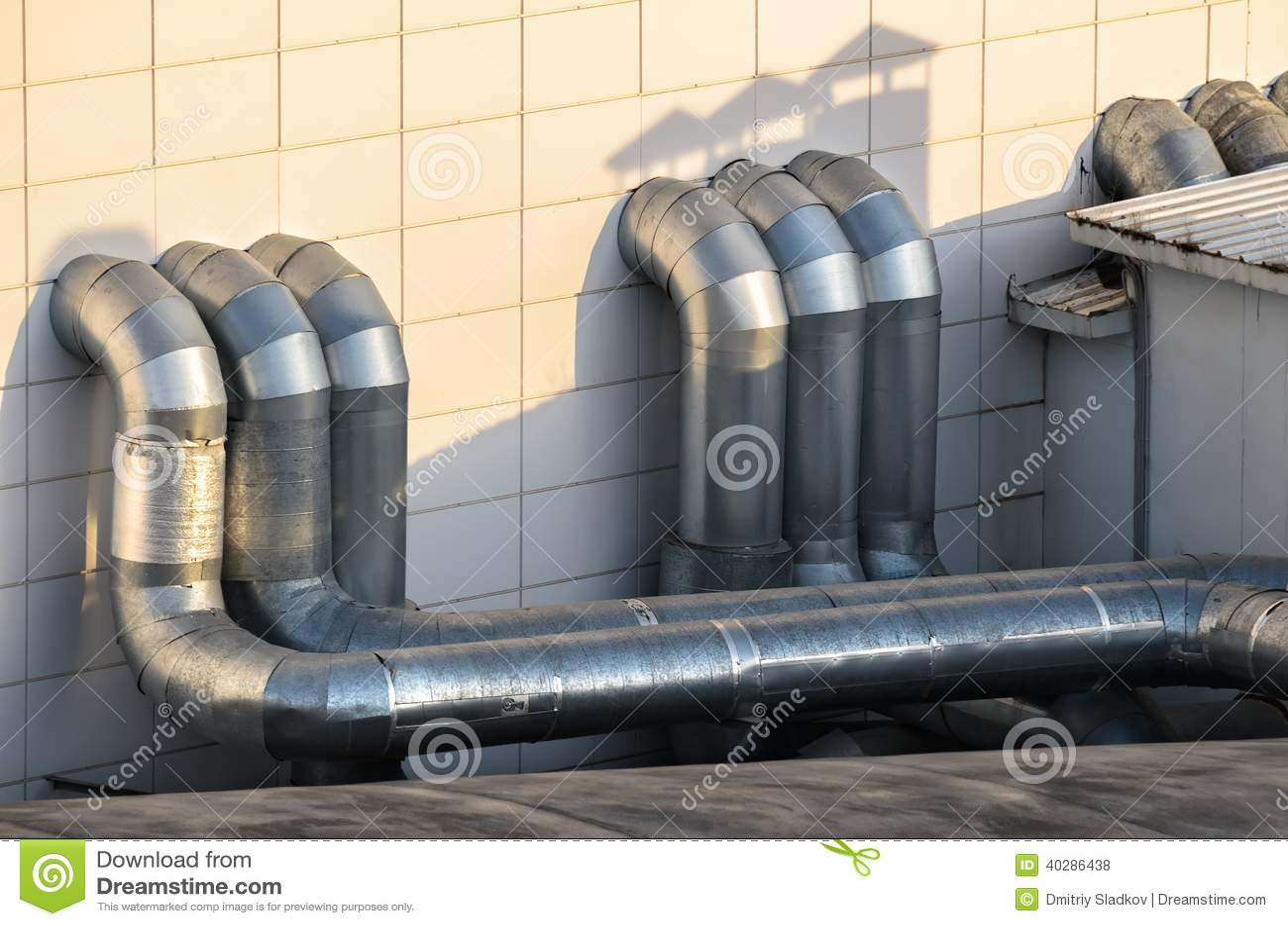 Трубы вентиляции