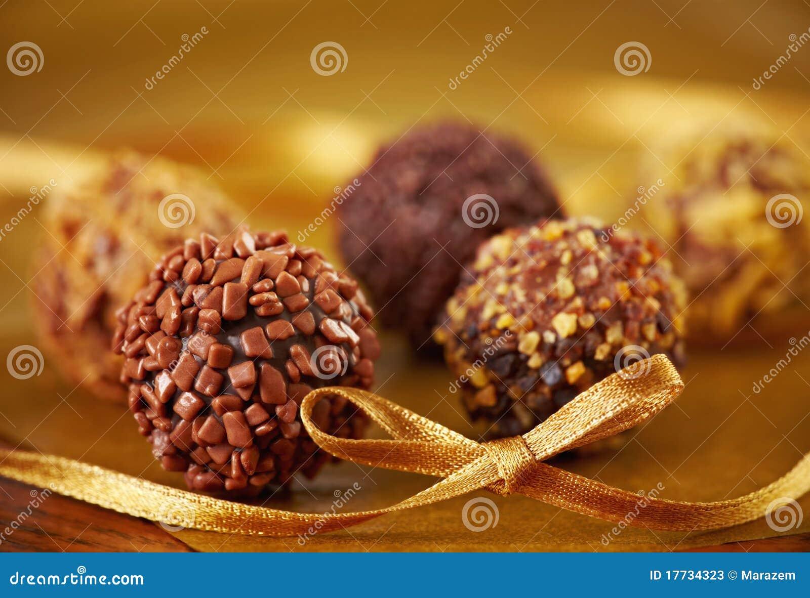 трюфеля шоколада