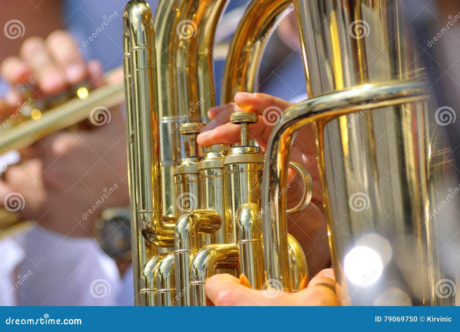 Туба в духовом оркестре