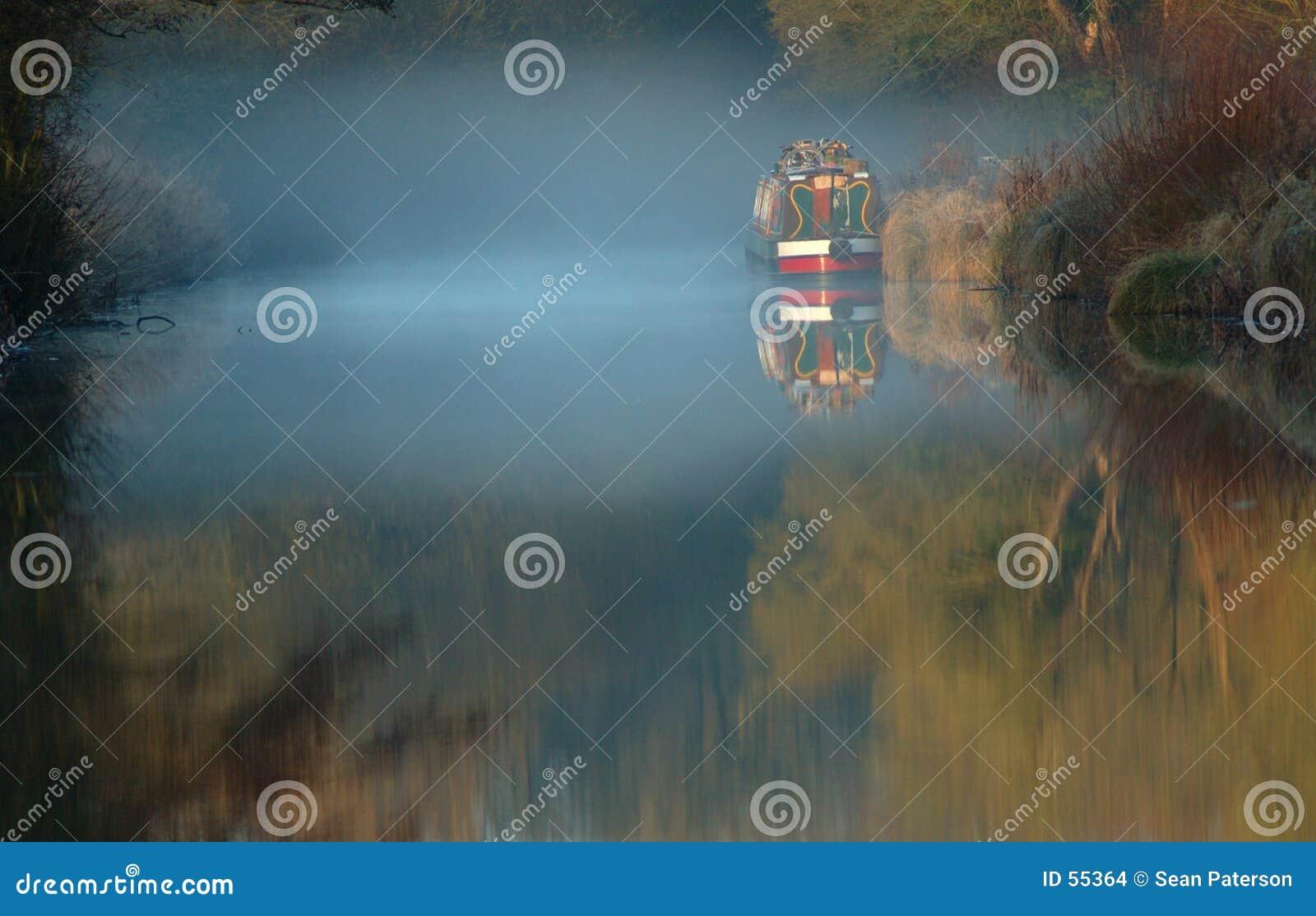 туман earlymorning