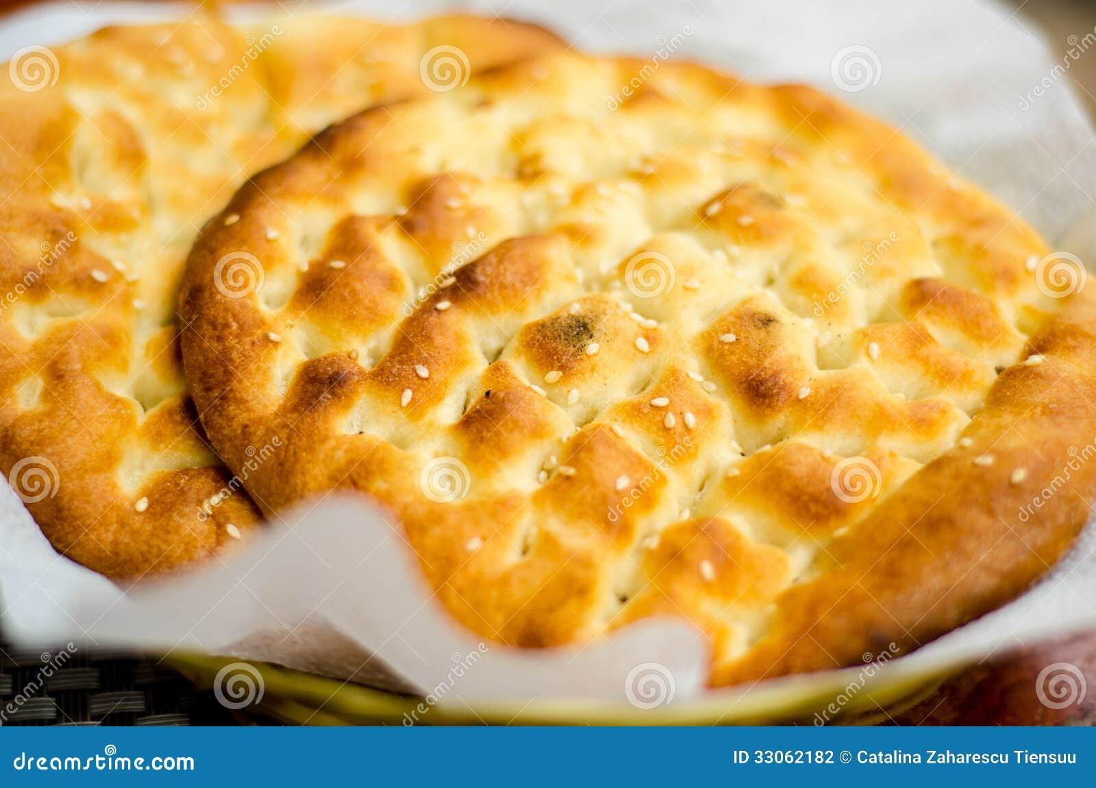 Турецкий плоский хлеб