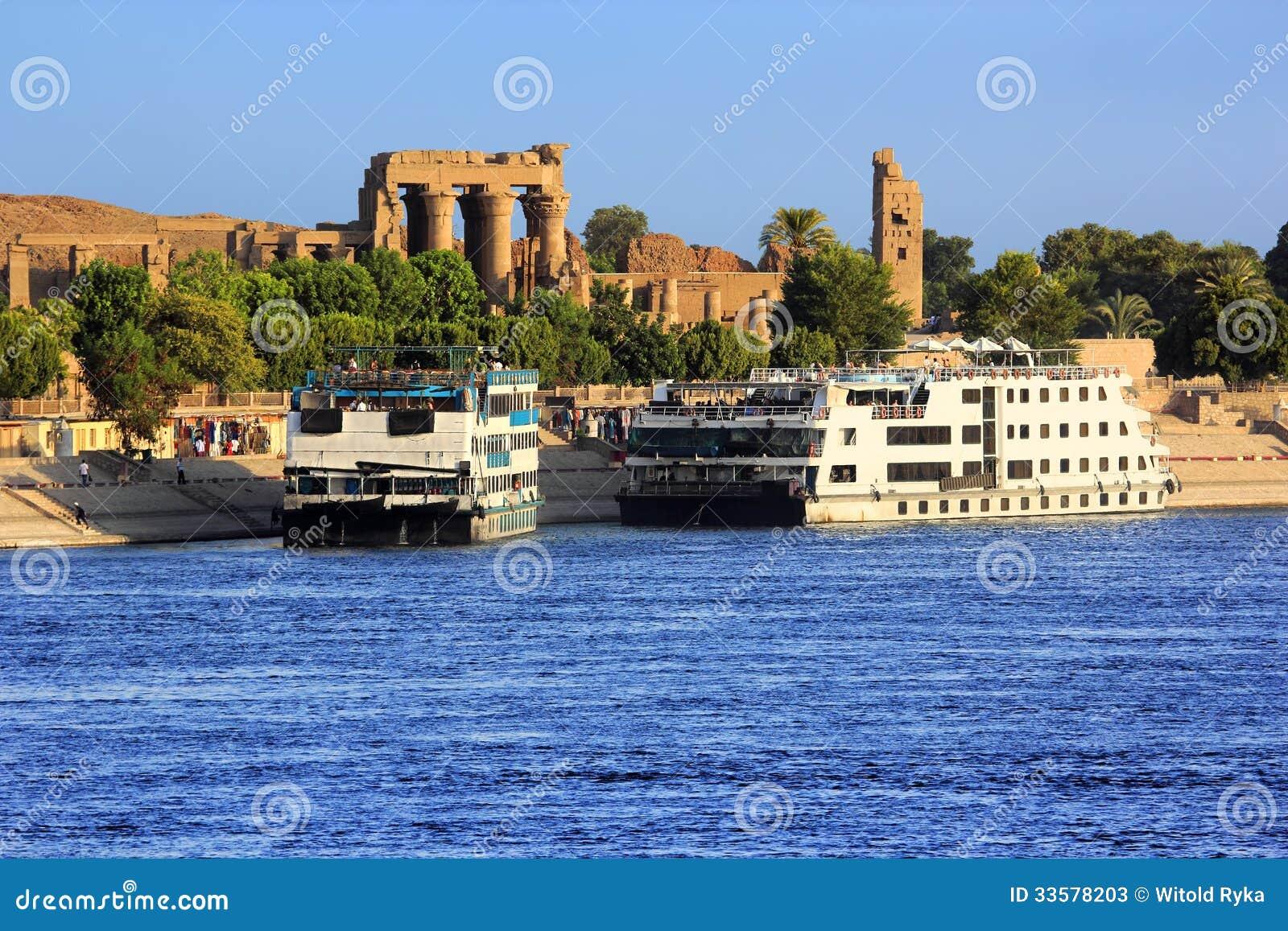 Туристические судна Нила реки