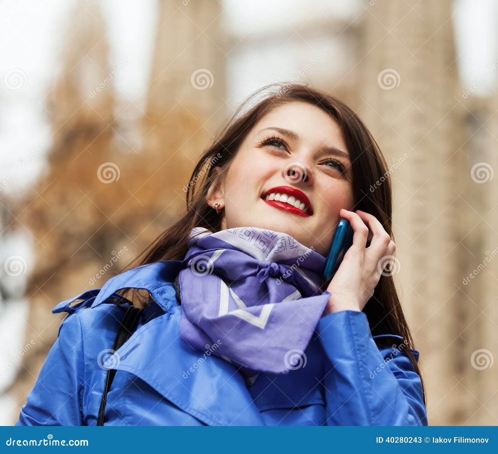 Турист вызывая чернью
