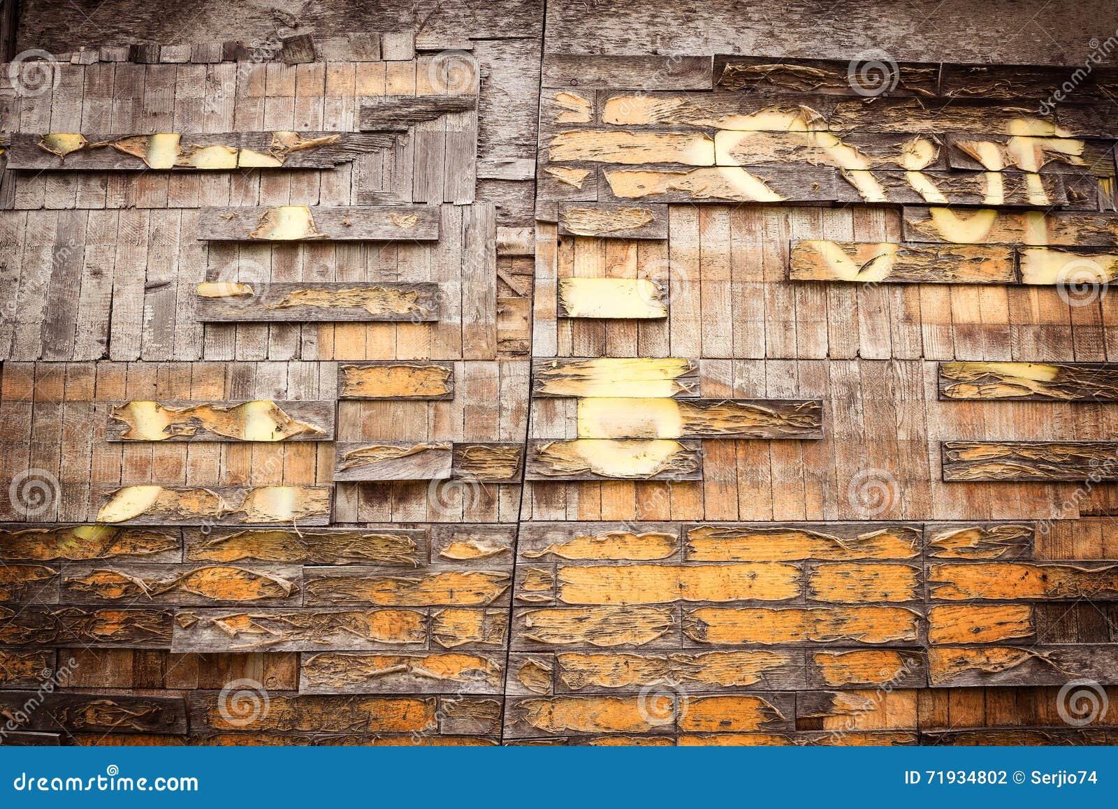 Тухлая деревянная текстура
