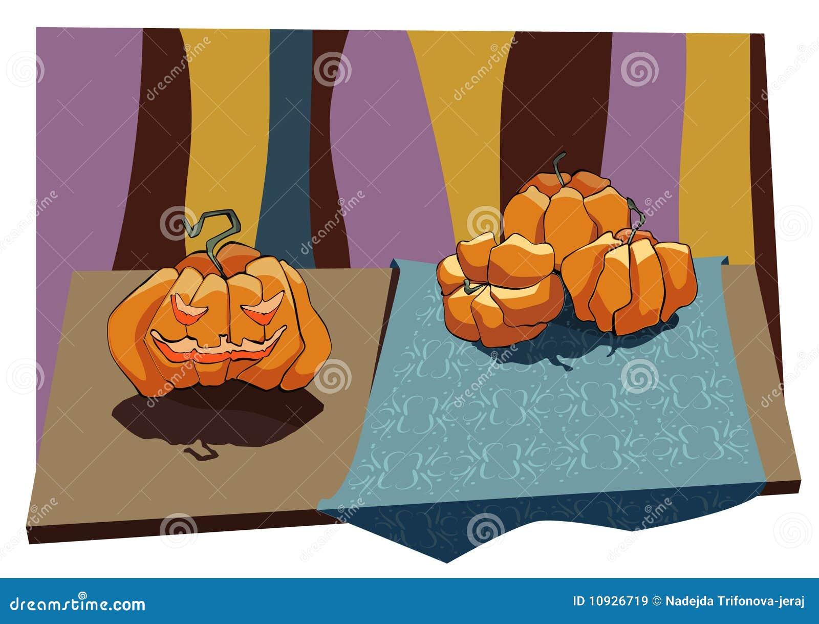 тыквы halloweem