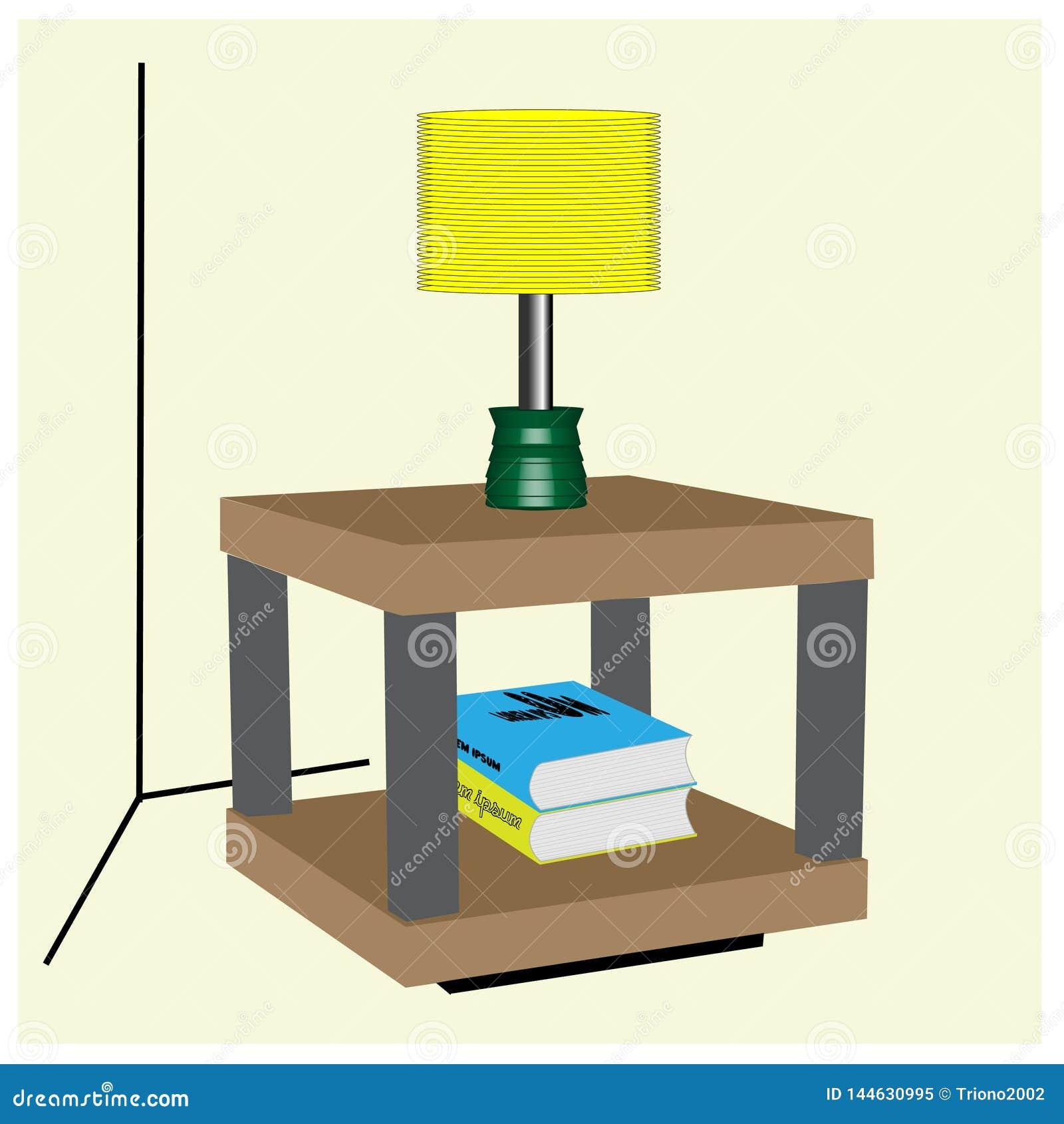 Угловая таблица для живя комнаты и семьи