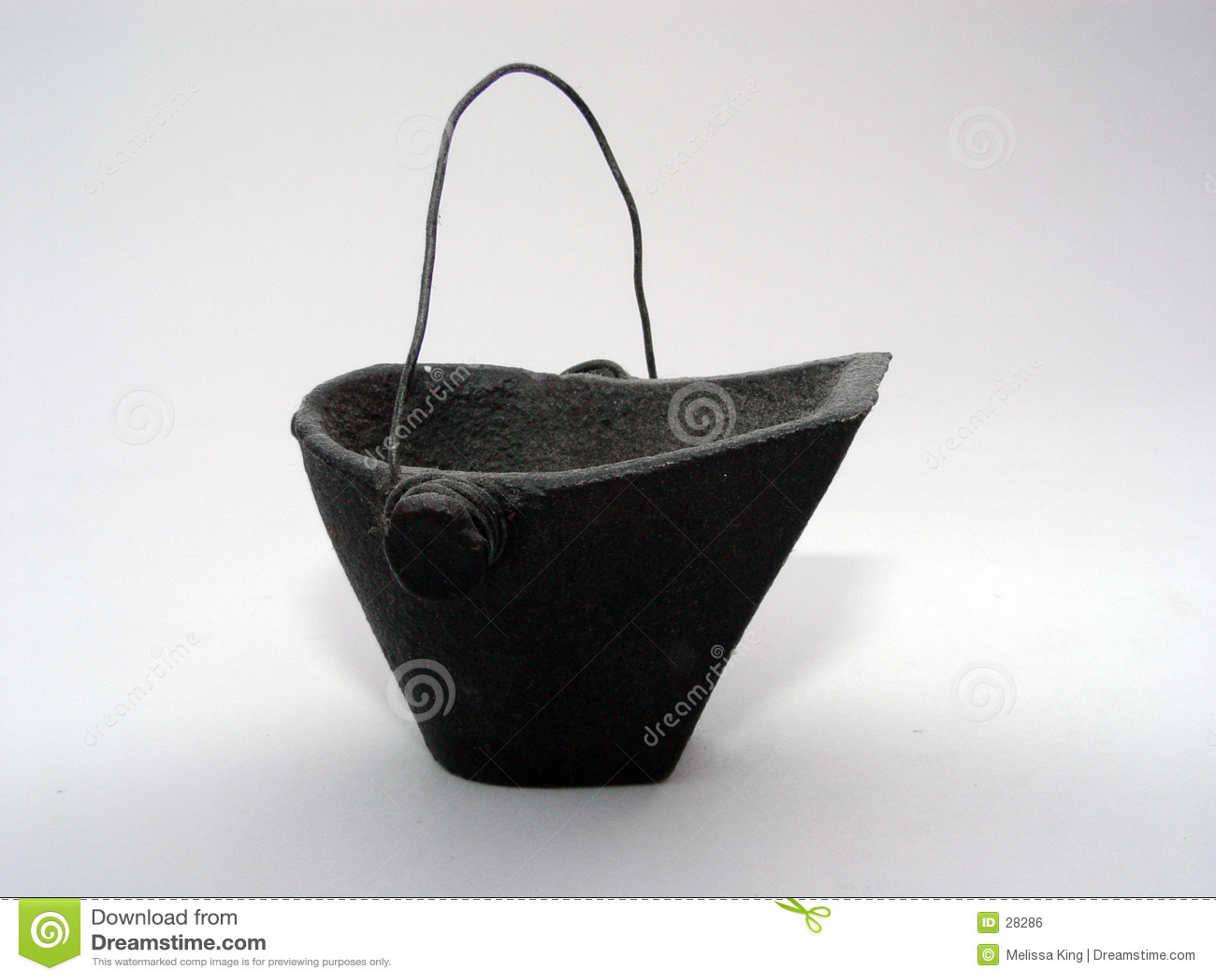 уголь ведра