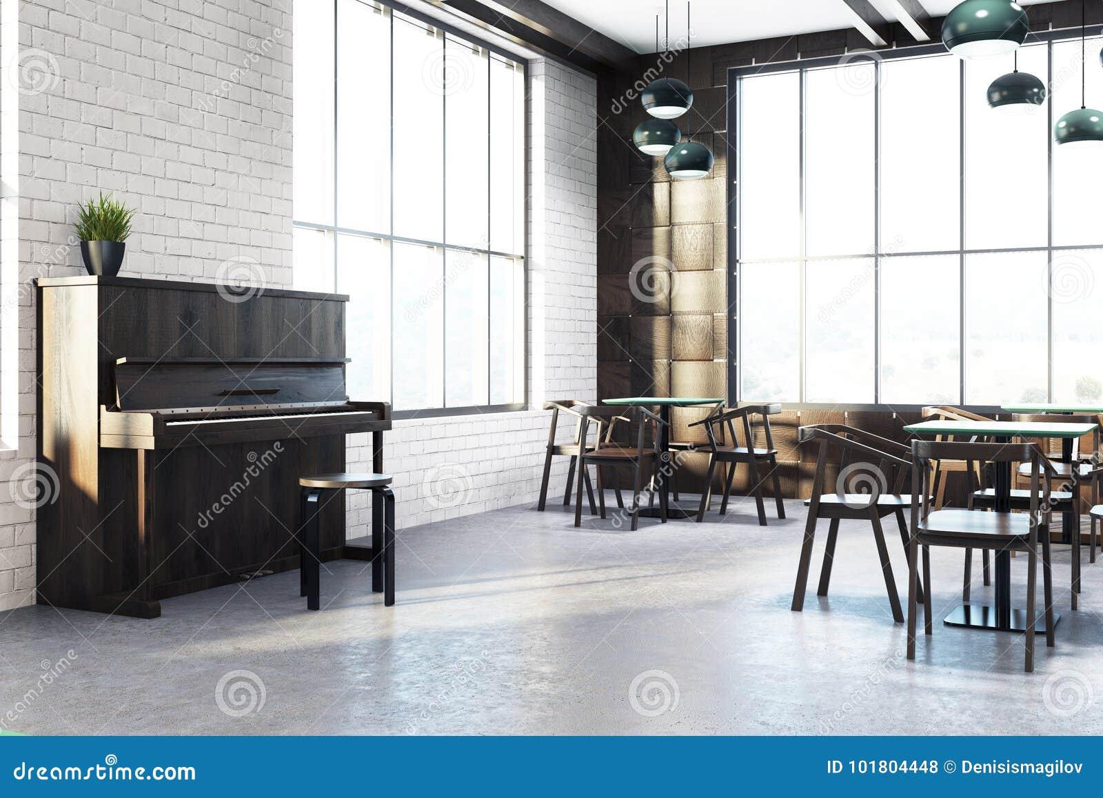 Угол белого кафа внутренний, рояль