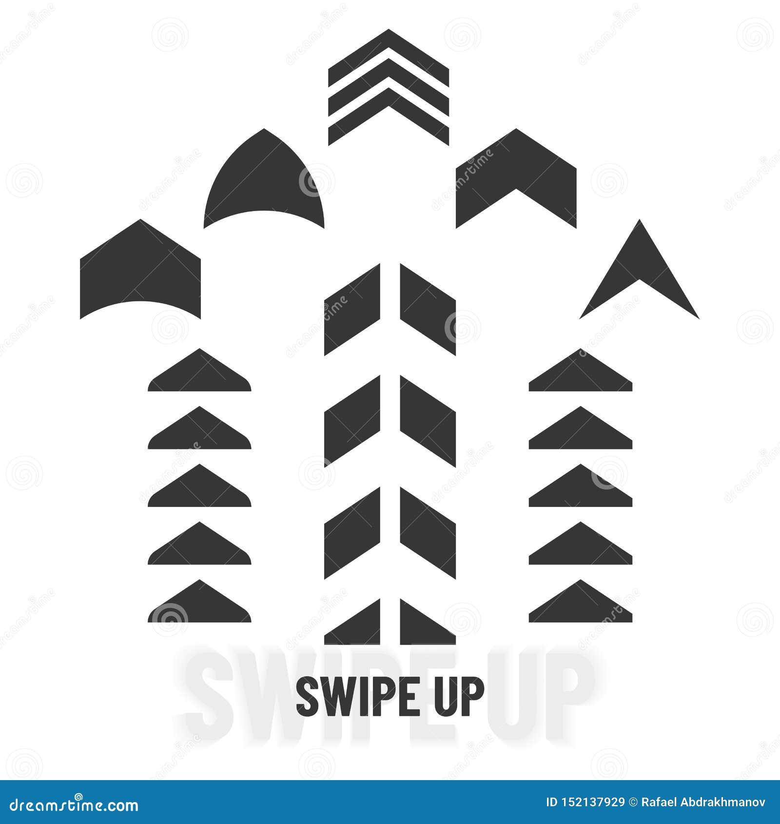 Удар вверх Черный следующий набор стрелок переченя Значки указателя символа цифров Средства массовой информации знака логотипа со