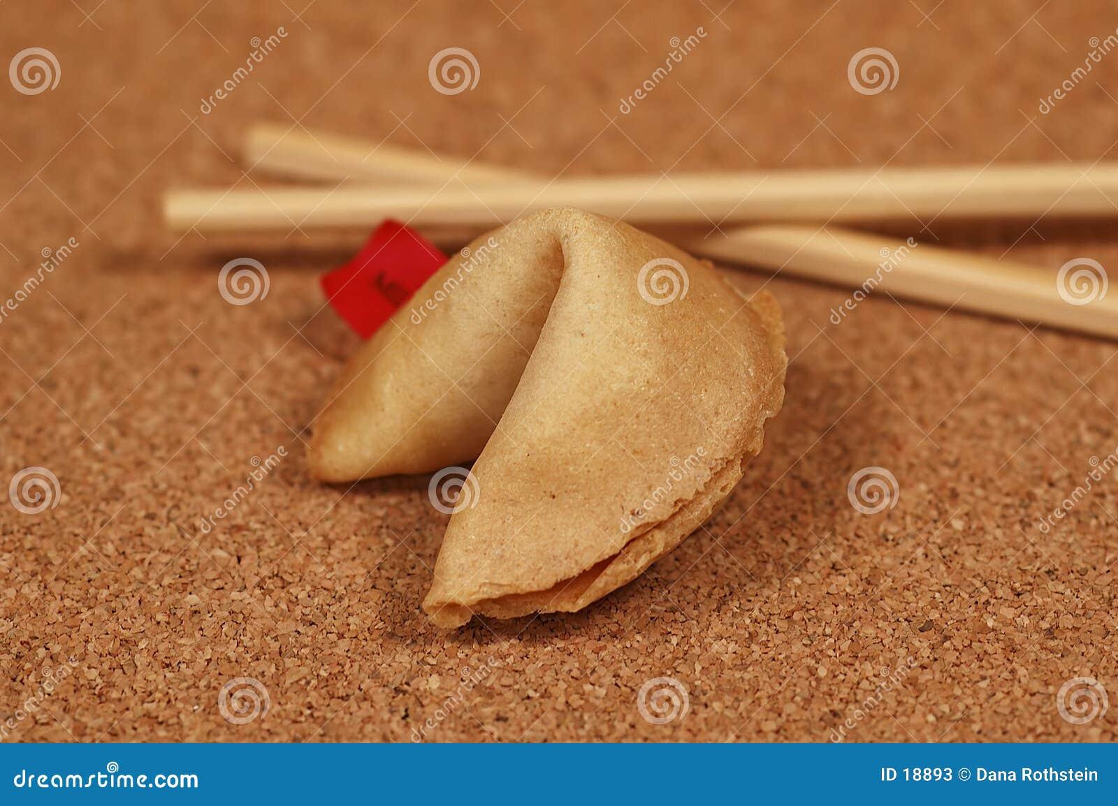 удача печенья