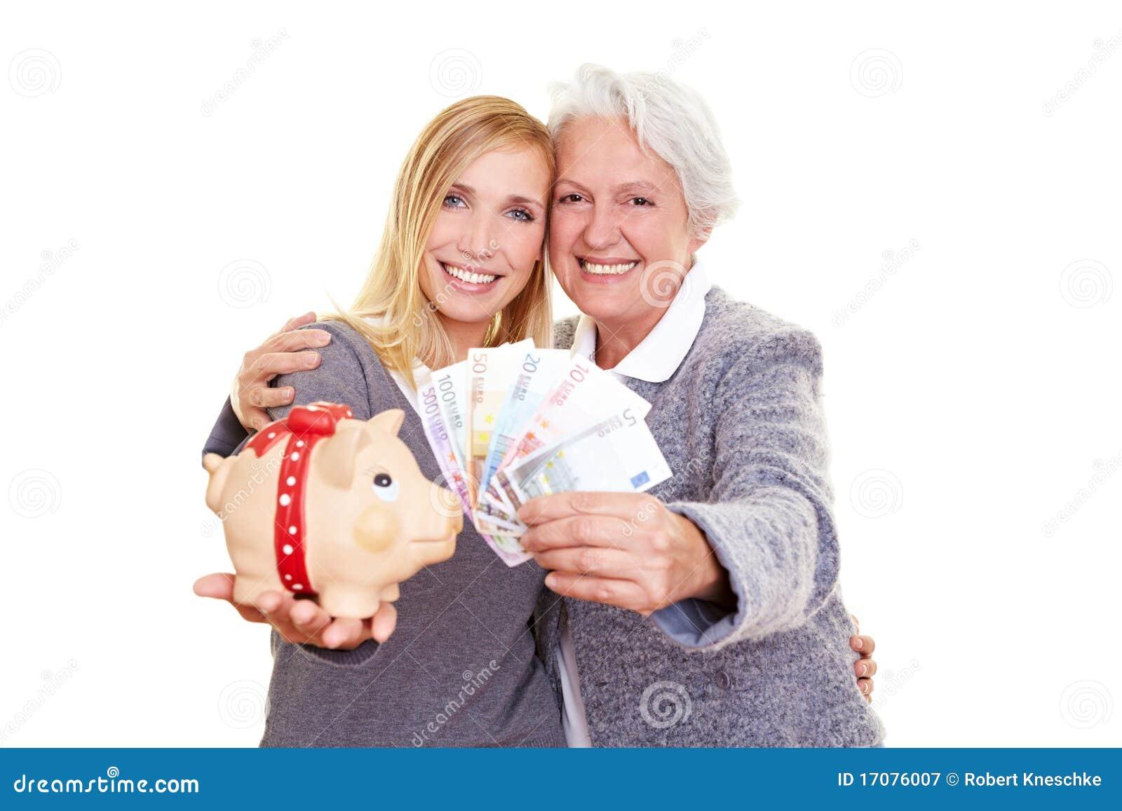 удерживание бабушки внучат