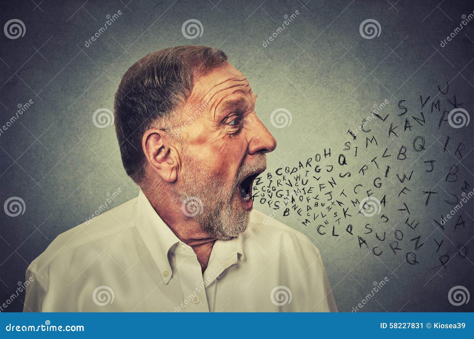 Укомплектуйте личным составом разговаривать при письма алфавита приходя из его рта