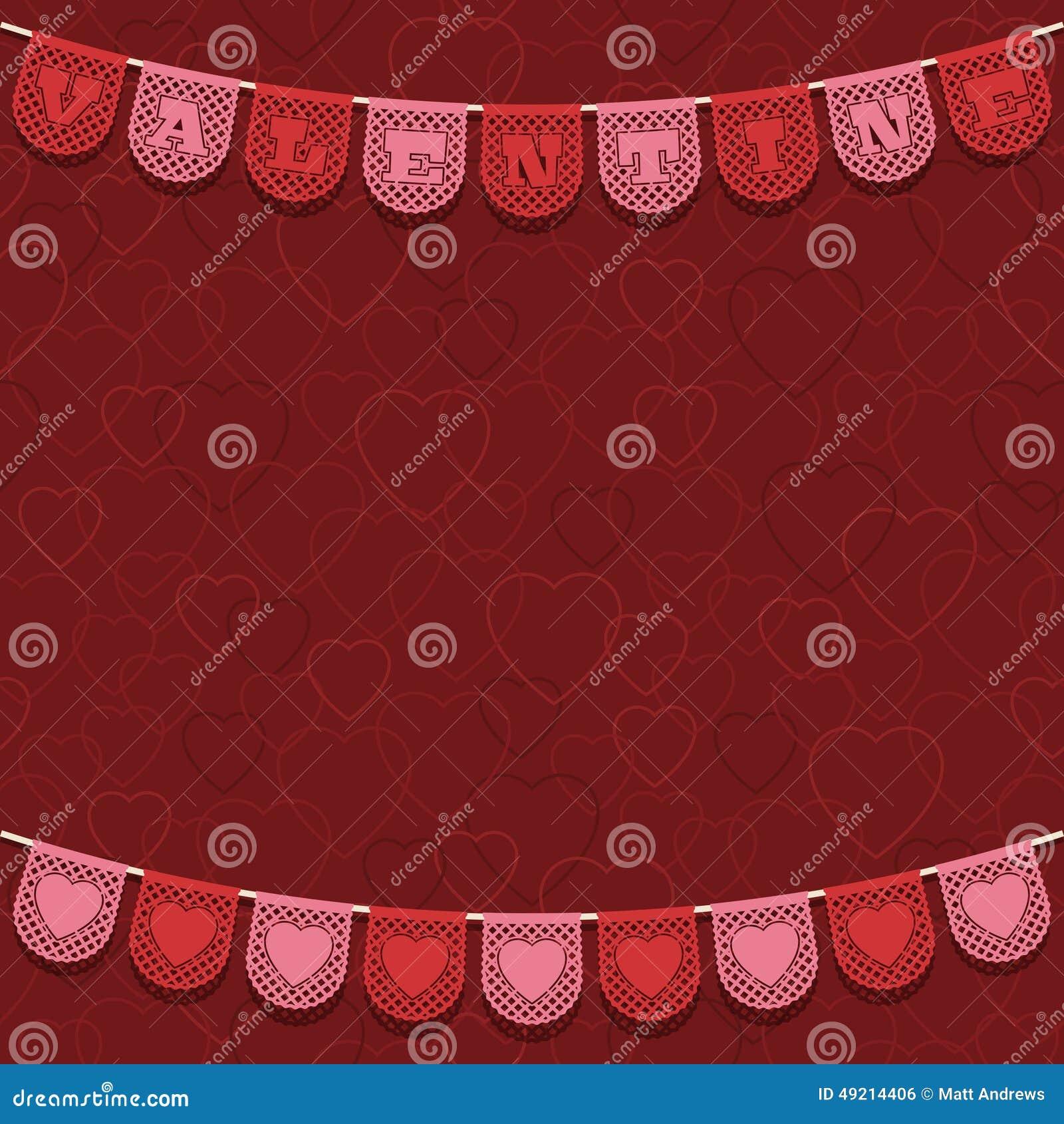 Украшение валентинки