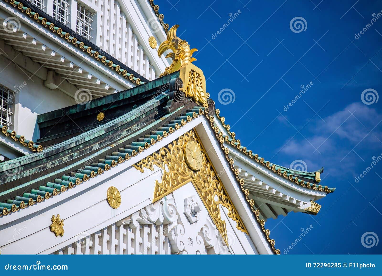 Украшение замка Осака