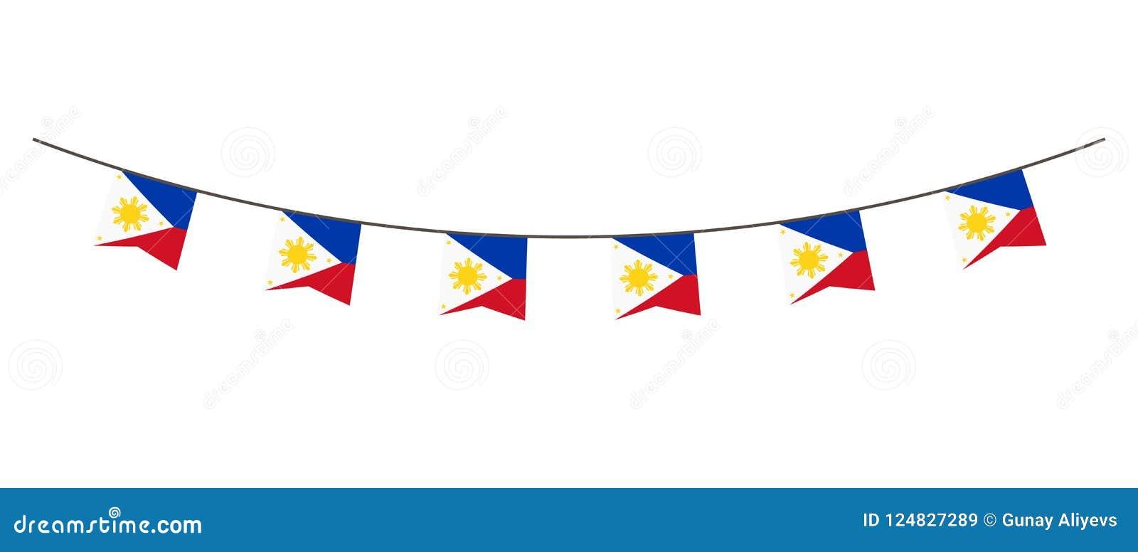 Украшения с цветами флага