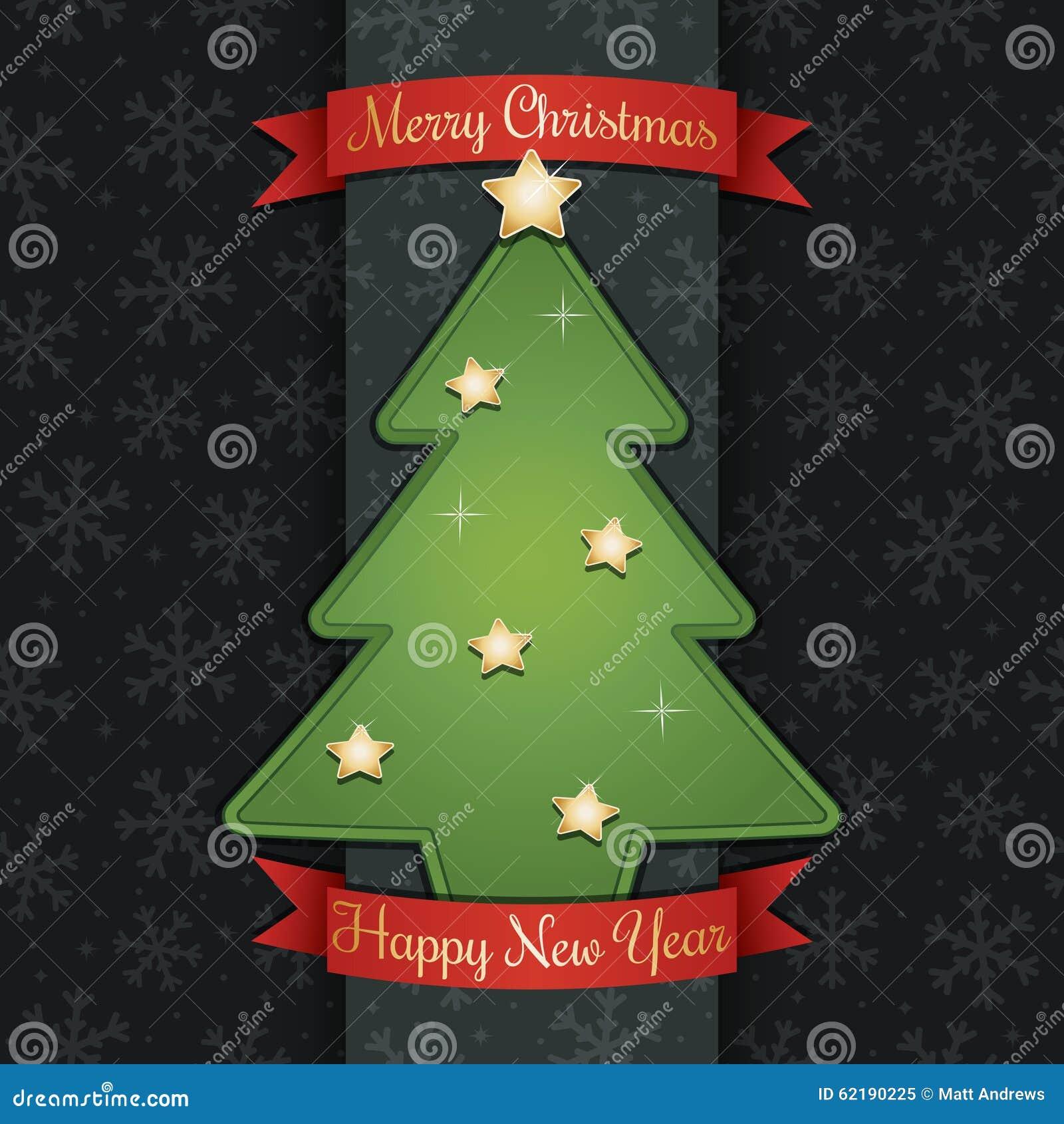 Украшение рождественской открытки
