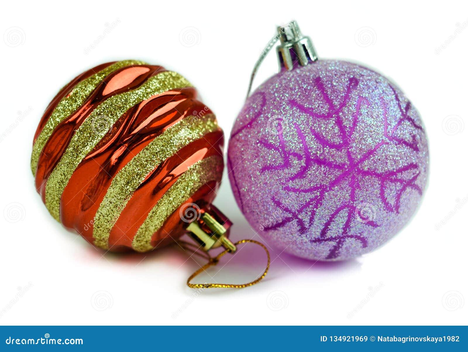 Украшение торжества шариков рождества изолировало
