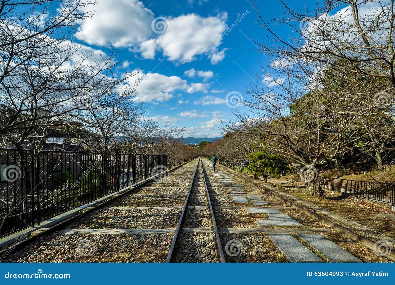 Уклон Keage в Киото, Японии