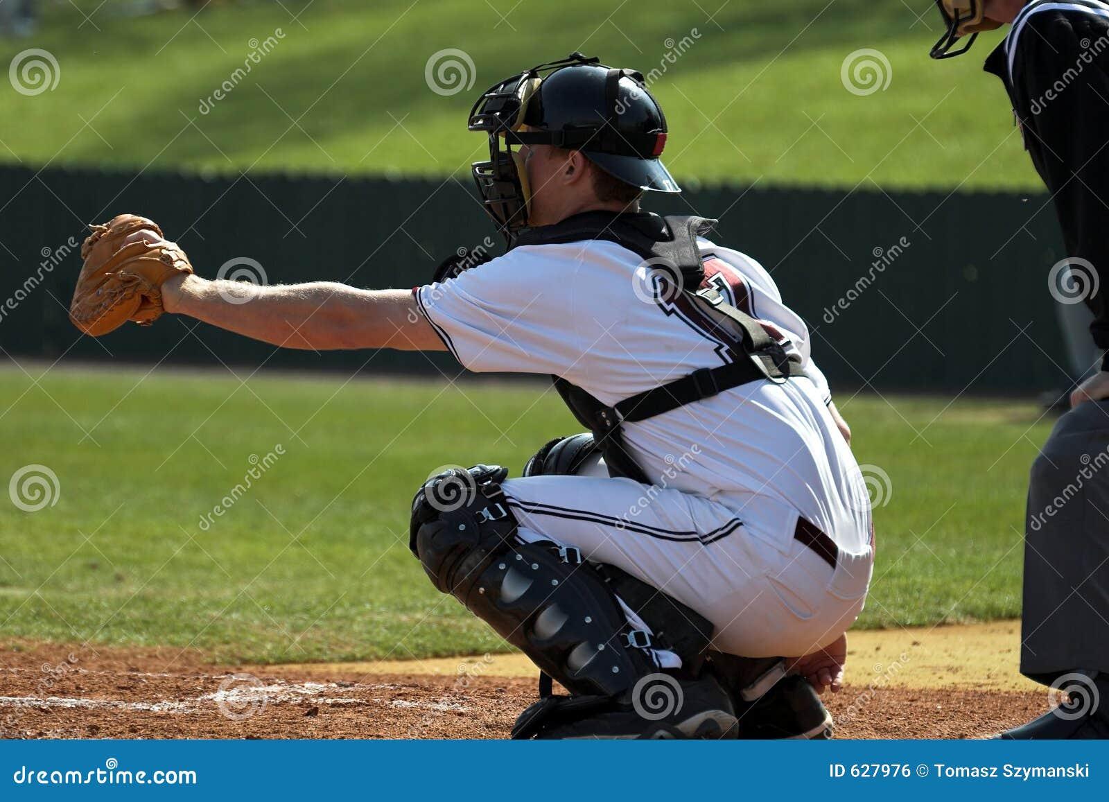 Download улавливатель бейсбола стоковое фото. изображение насчитывающей игра - 627976