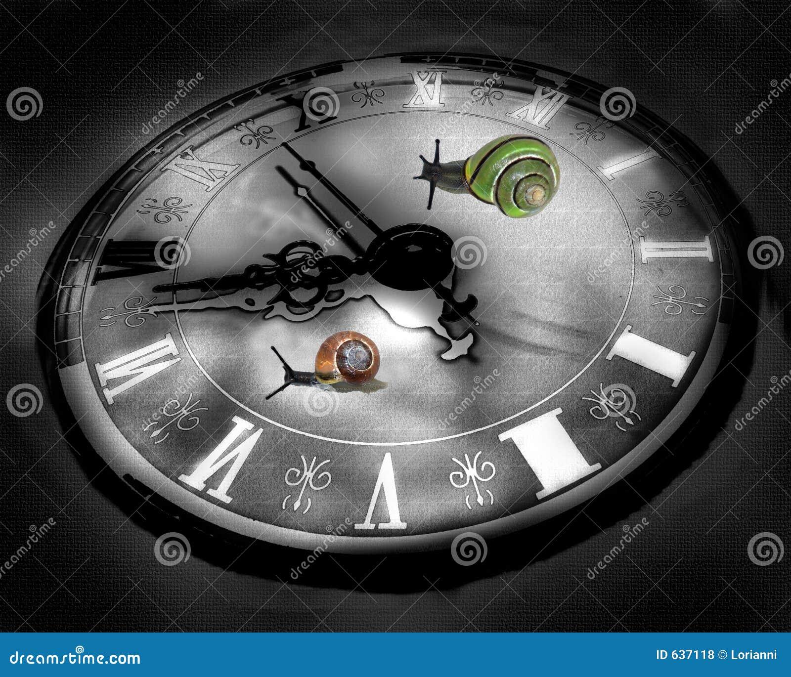Download улитки часов предпосылки цветастые Raicing Иллюстрация штока - иллюстрации насчитывающей гонка, дело: 637118