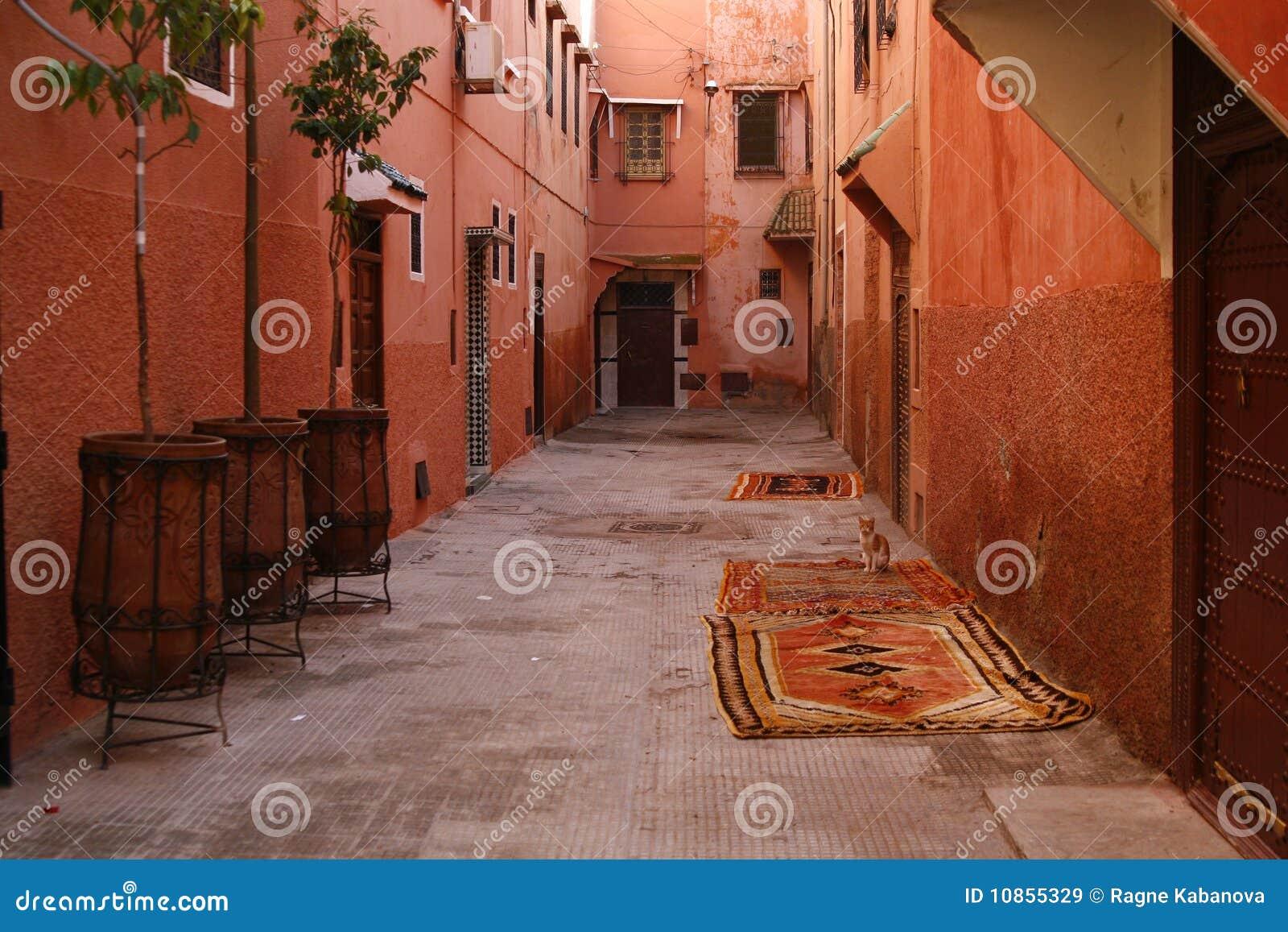 улица Марокко s medina marrakech малая