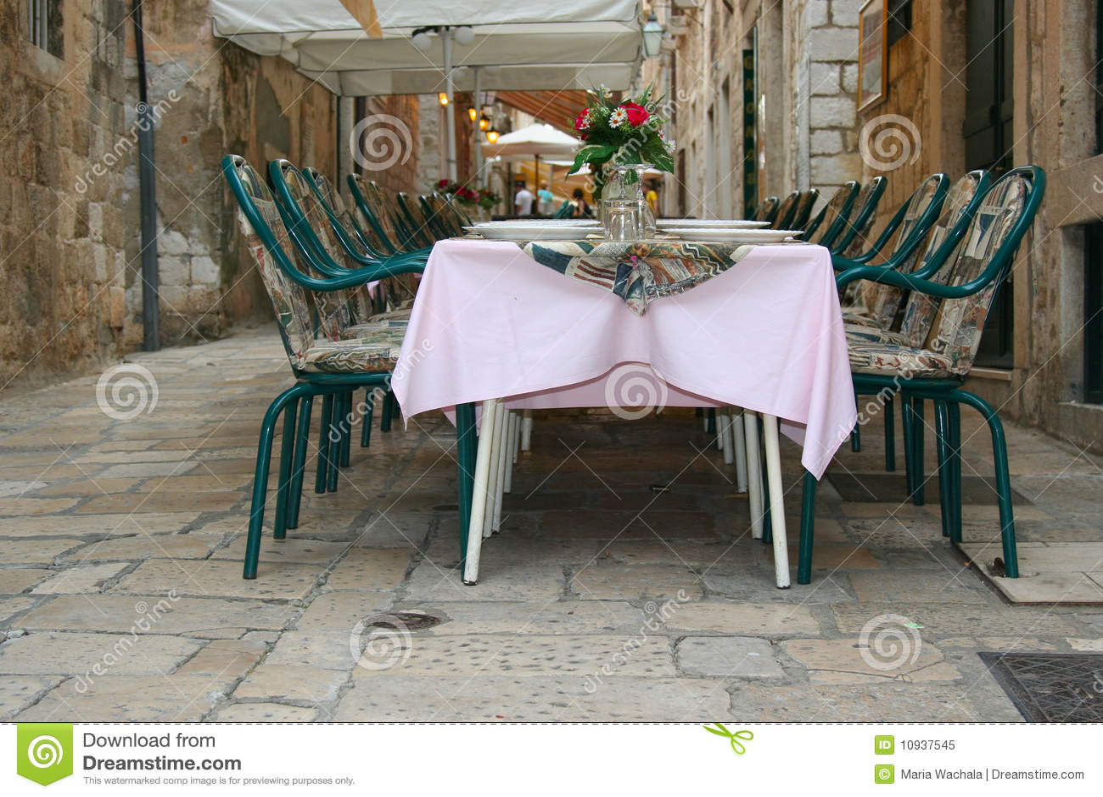 улица ресторана