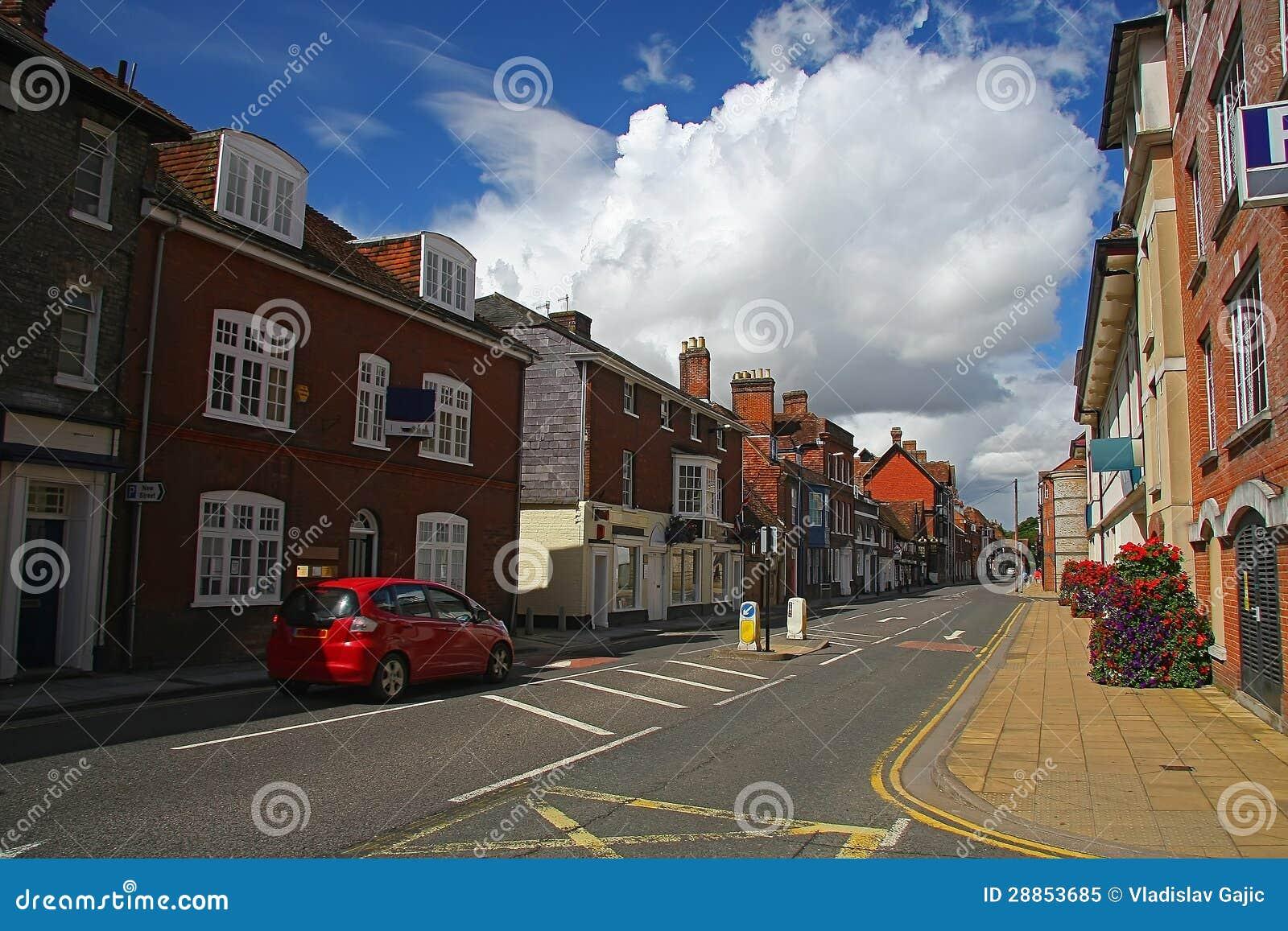 Улица Солсбери - Англия