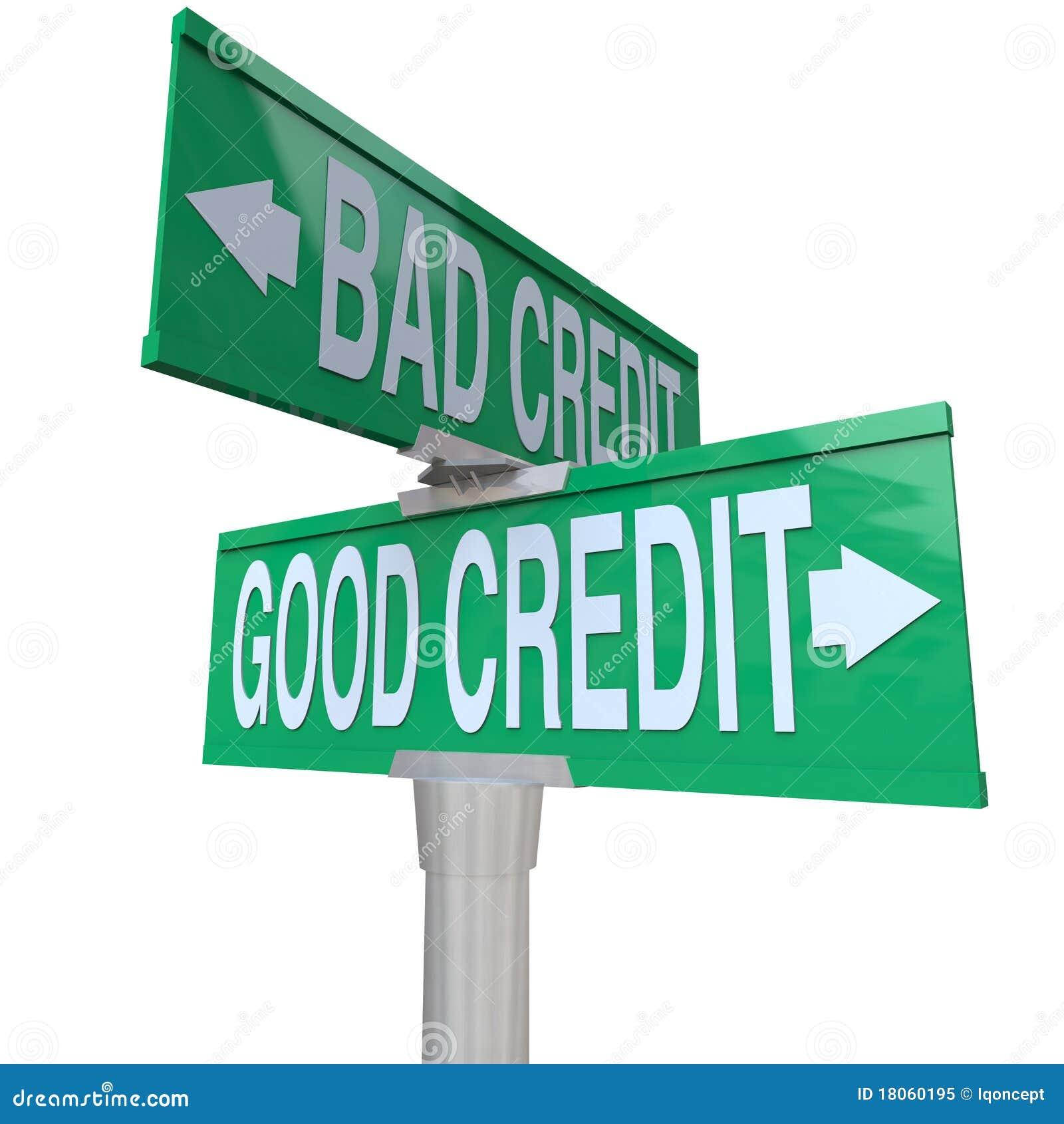 улица 2 знака плохого кредита хорошая против путя