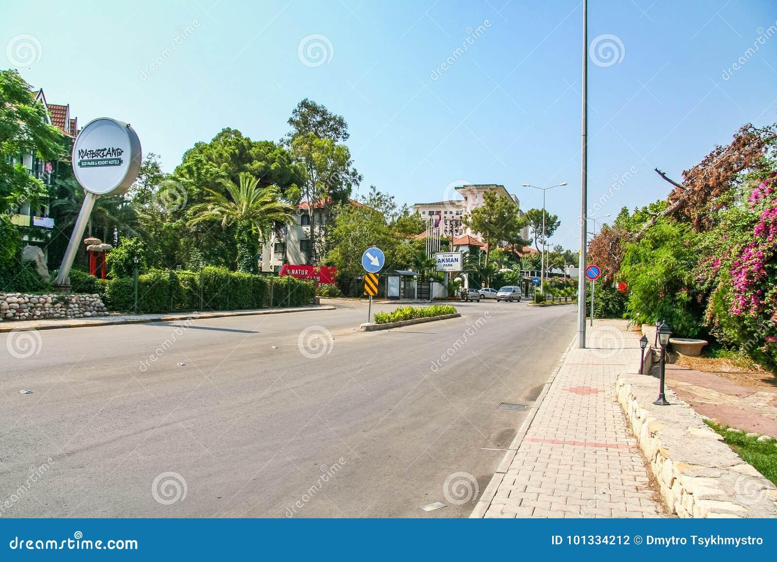 Улицы гостиницы в деревне Camyuva