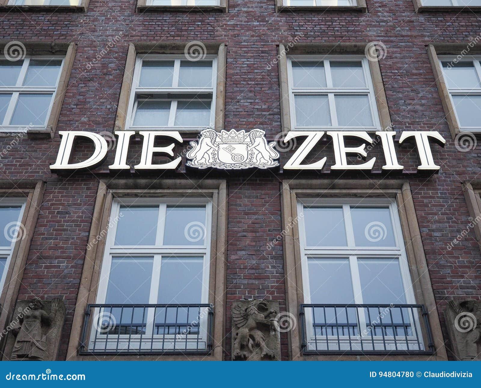 Умирают штабы Zeit в Гамбурге