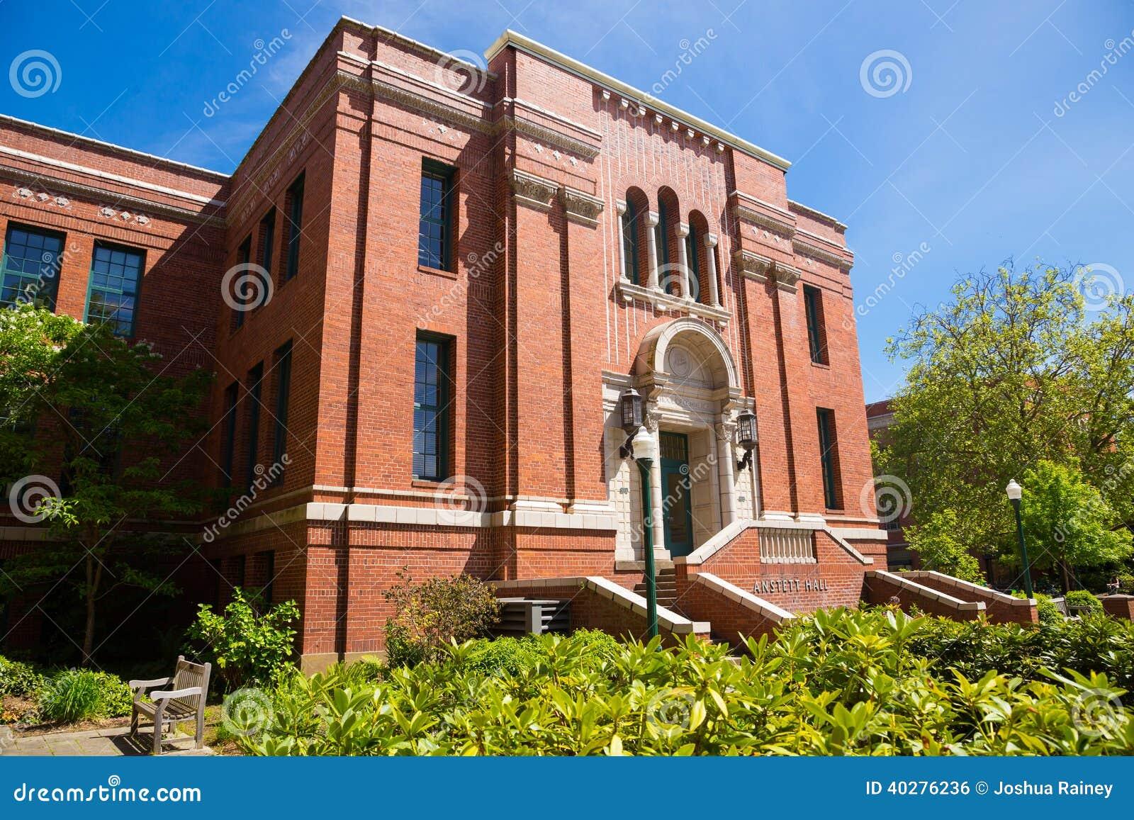 Университет Anstett Hall Орегона