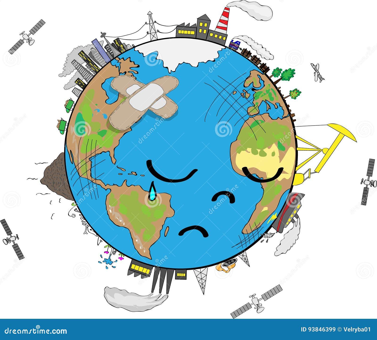 Унылая земля планеты