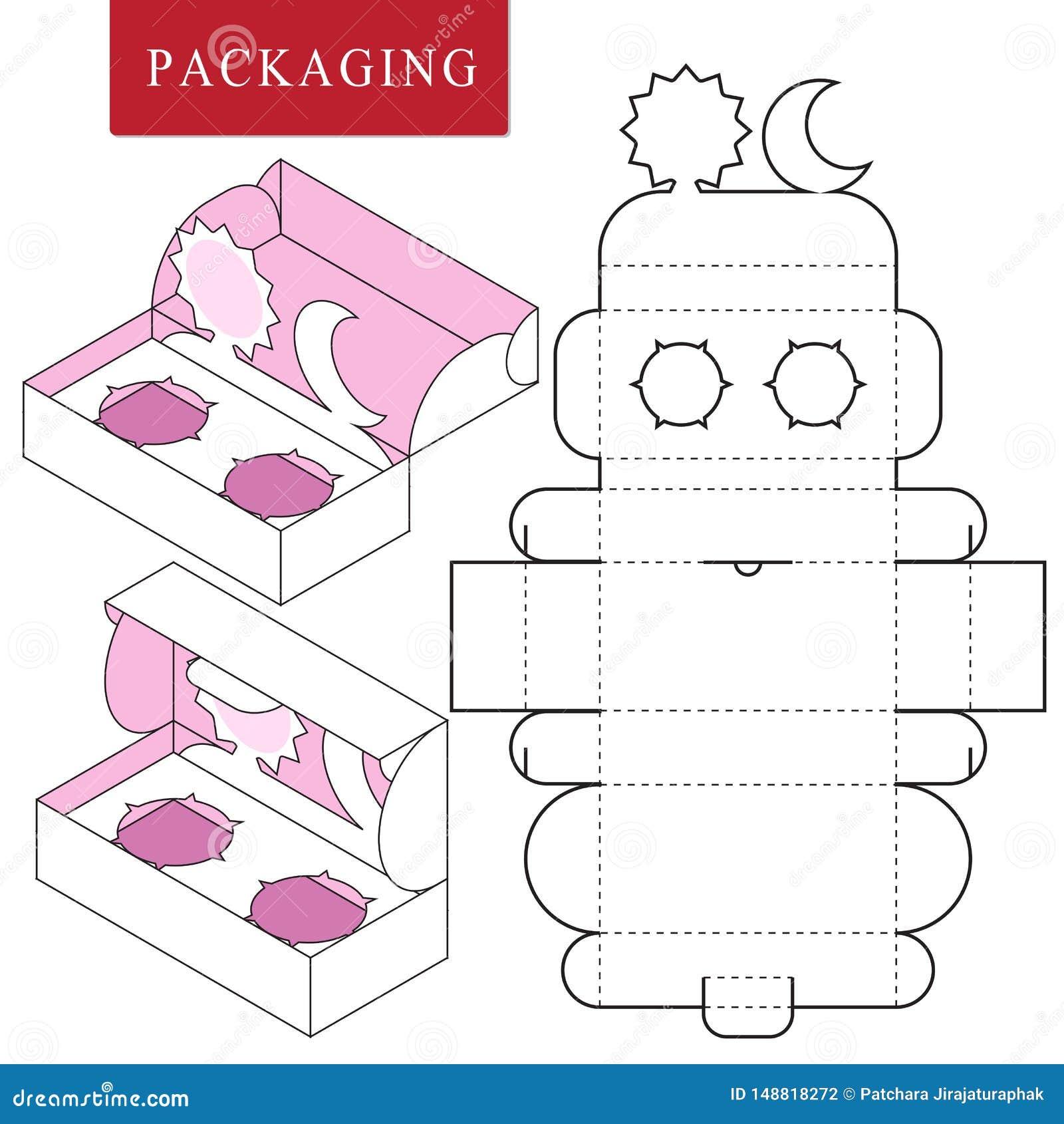 Упаковка для продукта косметики или skincare Пакет для объекта