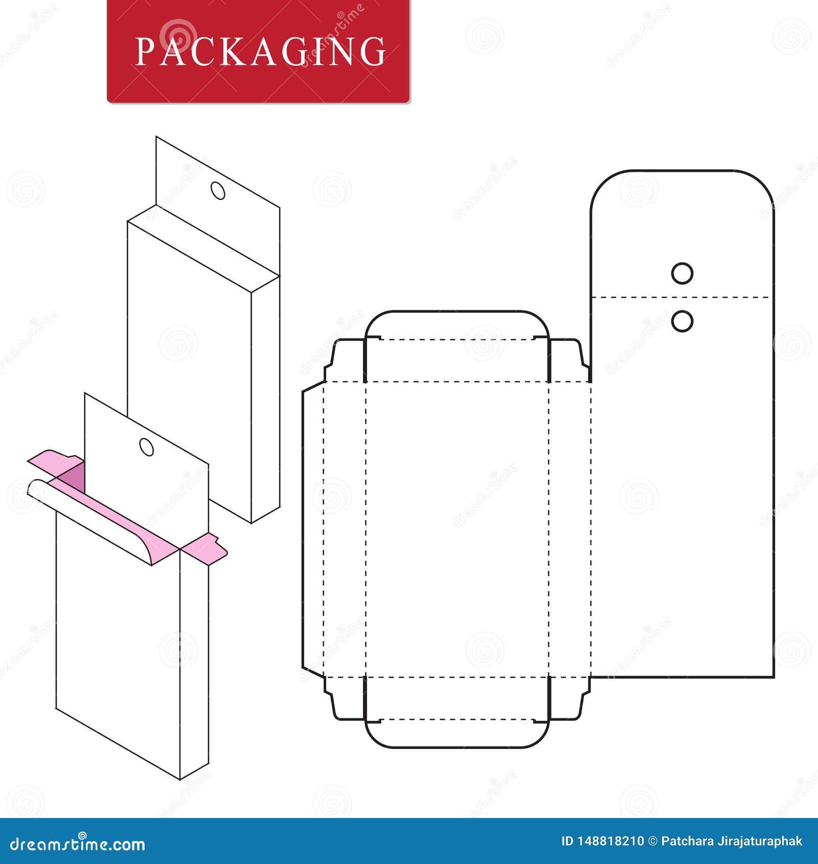 Упаковка для продукта косметики или skincare