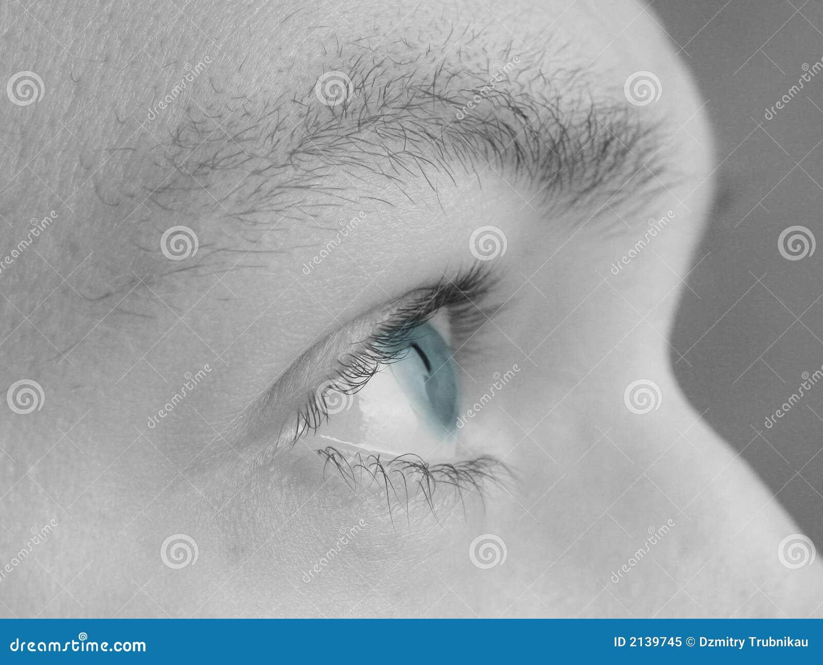 упование голубого глаза