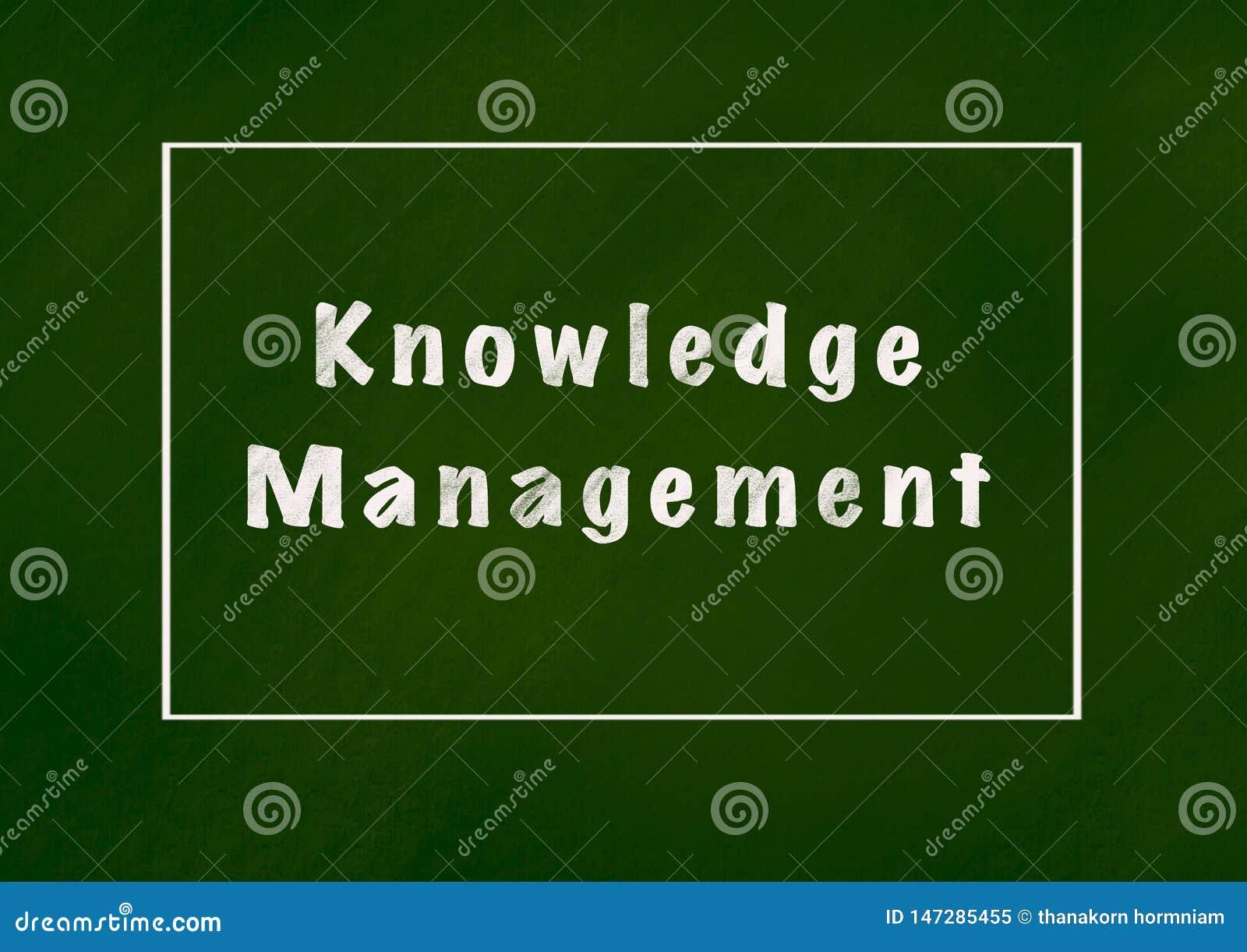 Управление знания