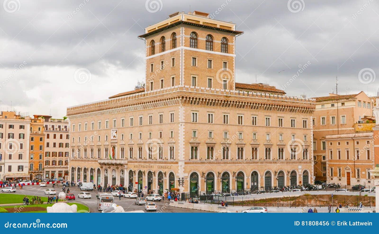 Управление страхования Generali в Риме